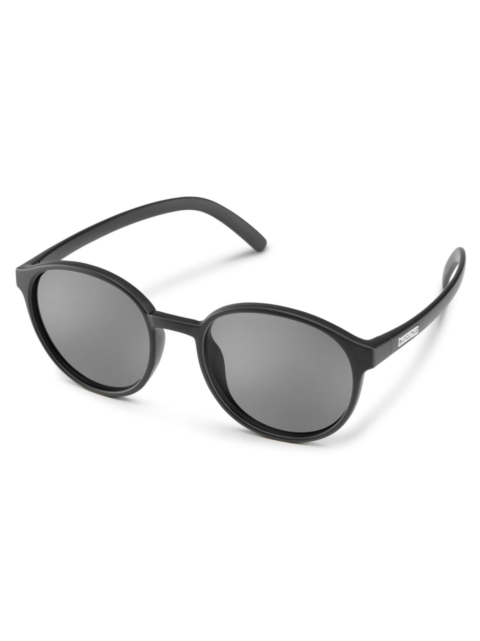 Low Key Matte Black Polarized Gray