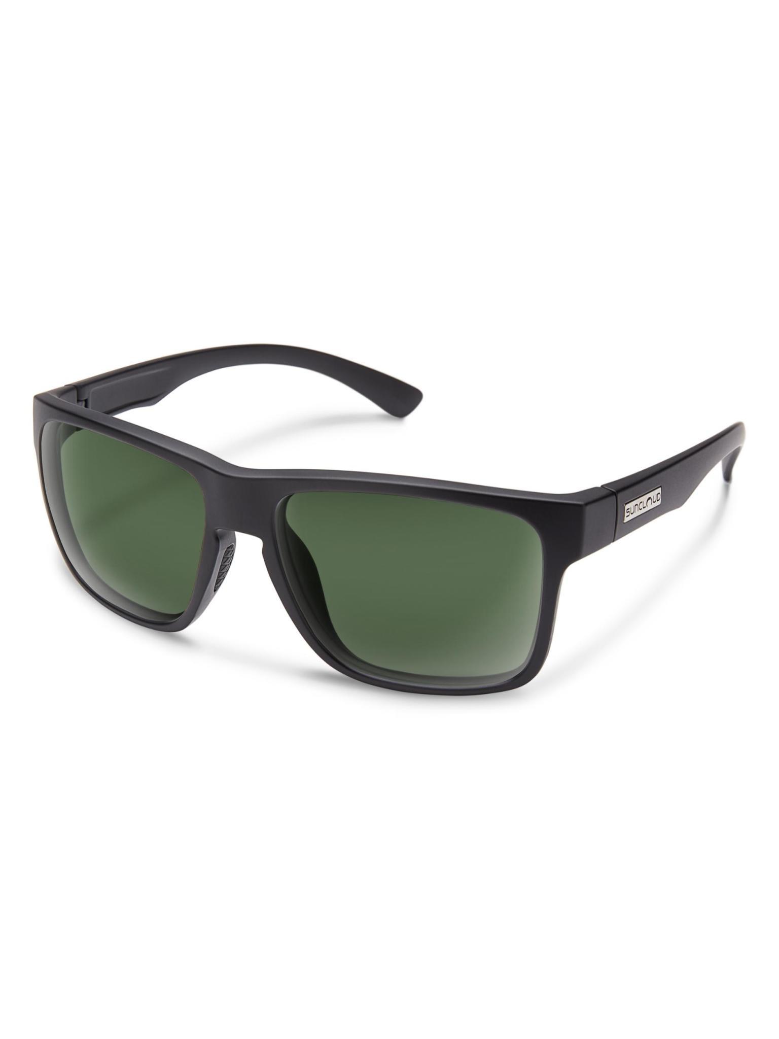 Rambler Matte Black Polarized Gray Green