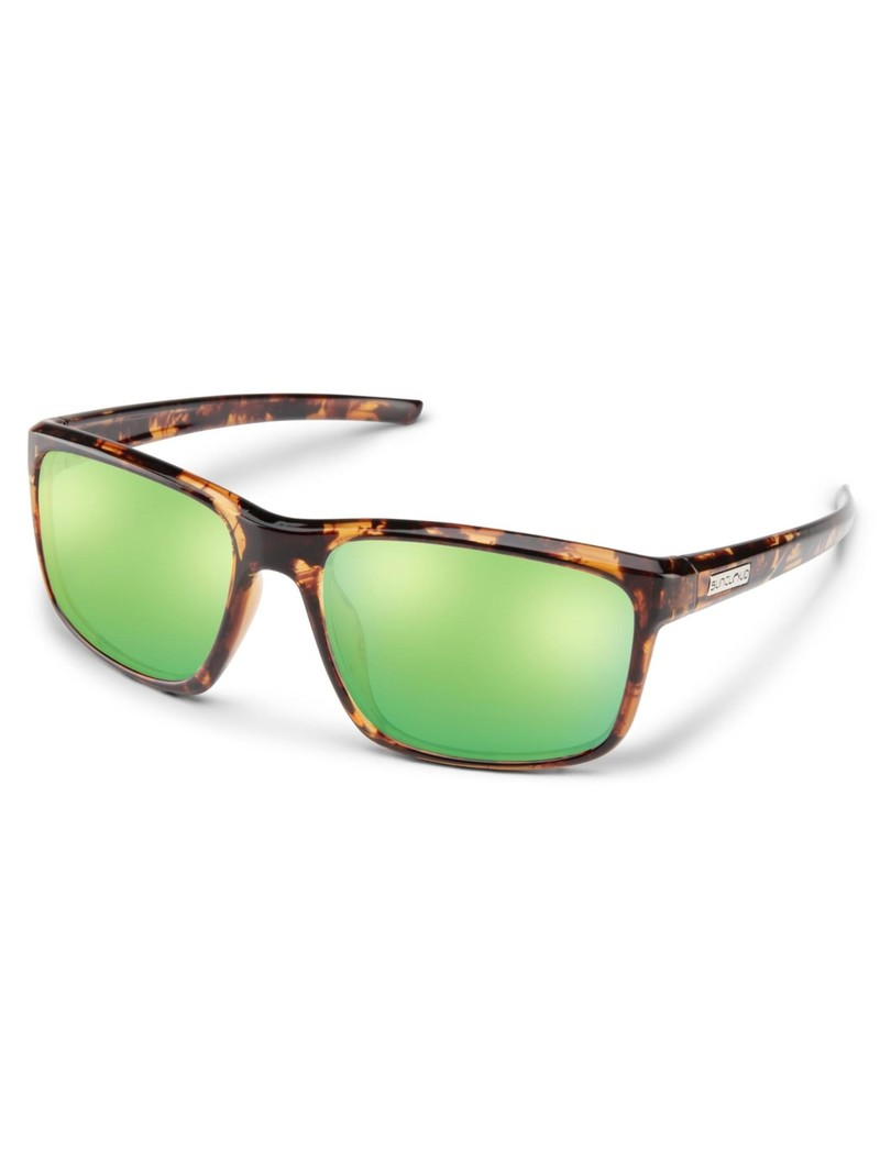 Respek Tortoise Polarized Green Mirror