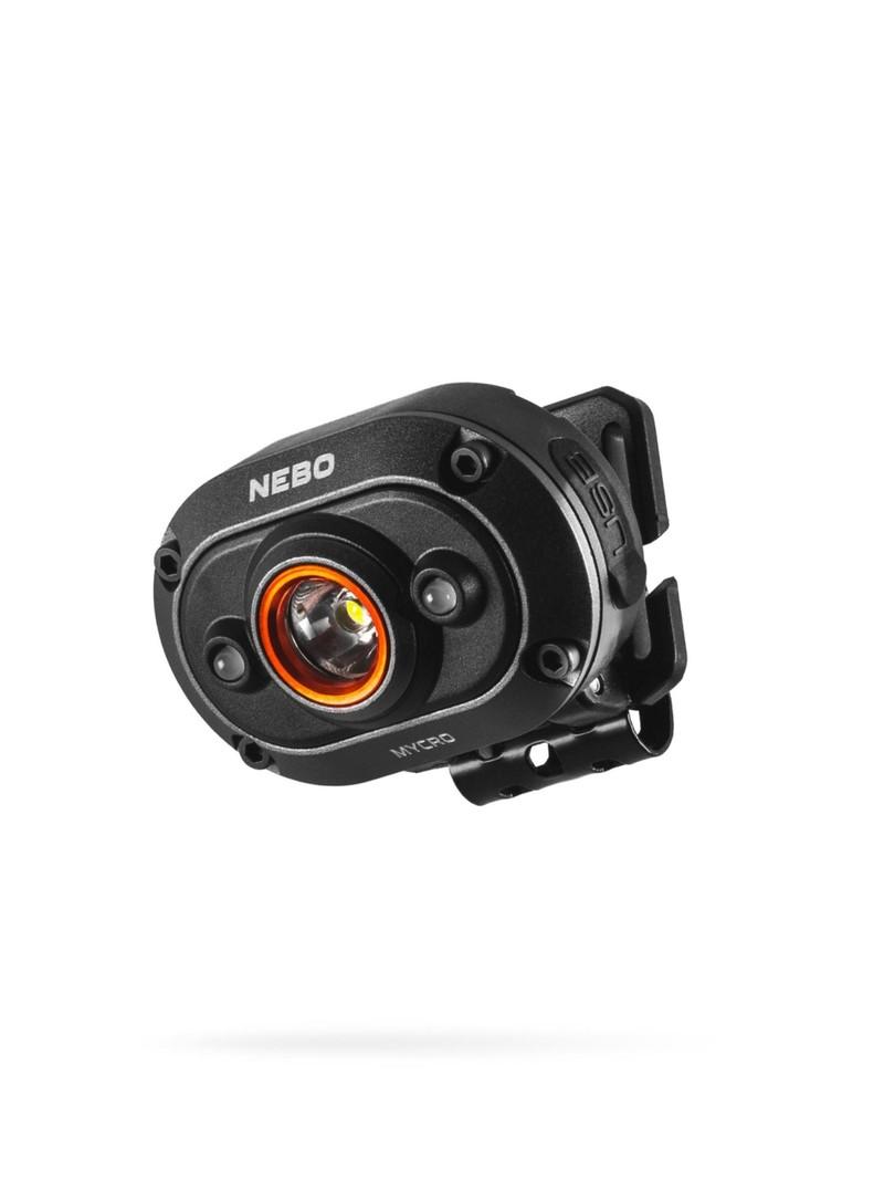 NEBO Mycro Headlamp & Cap Light - Rechargeable