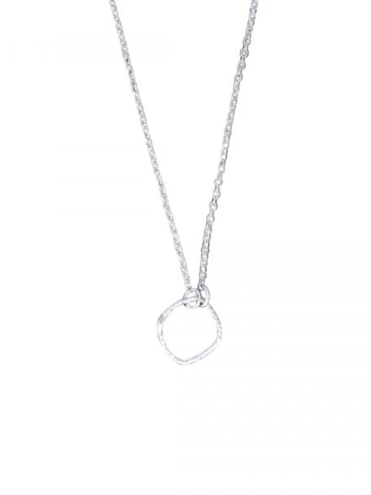"""Acomo Jewelry Delicate Squares Sterling Silver 16"""" Necklace"""