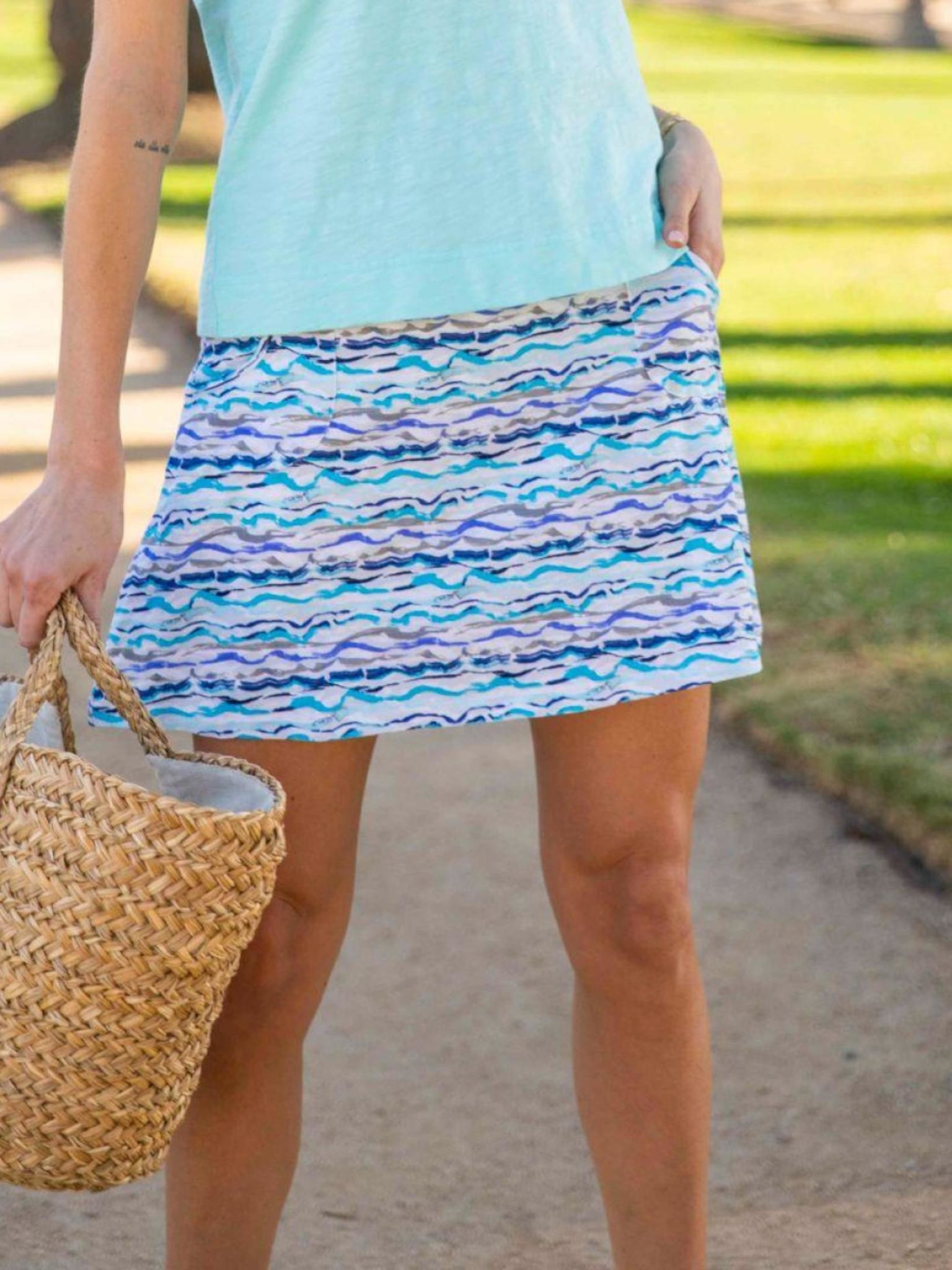 Escape by Habitat Ride The Wave Rayon Skort