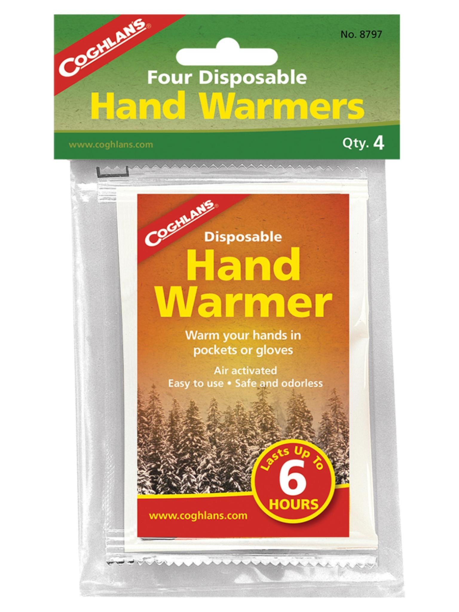 Coghlan's Disposable Hand Warmers - pkg of 4