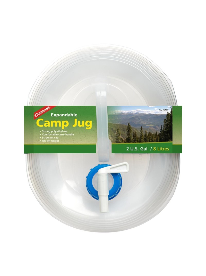 Coghlan's Expandable Camp Jug - 2 Gallon