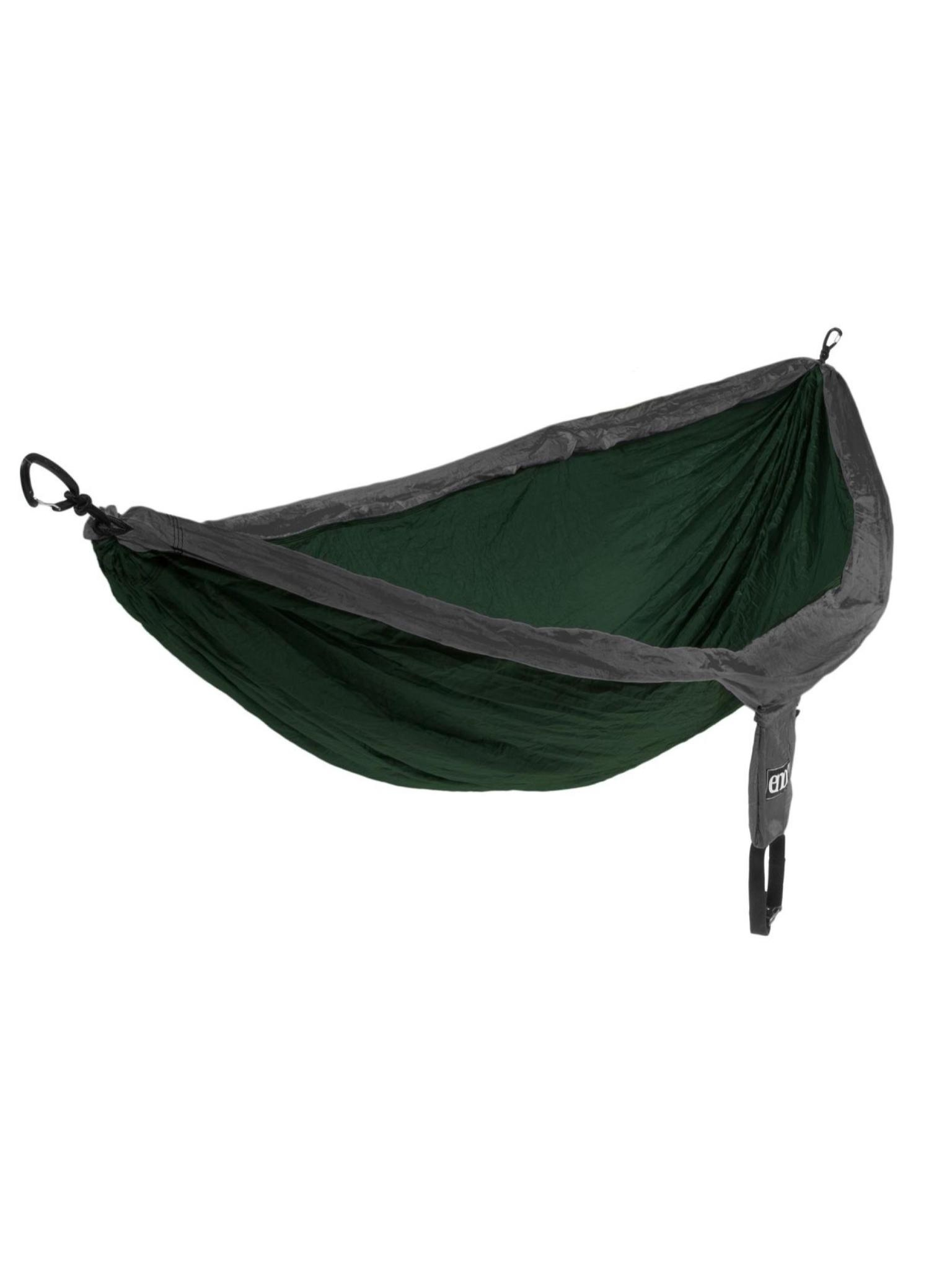 ENO DoubleNest Hammock Forest/Charcoal