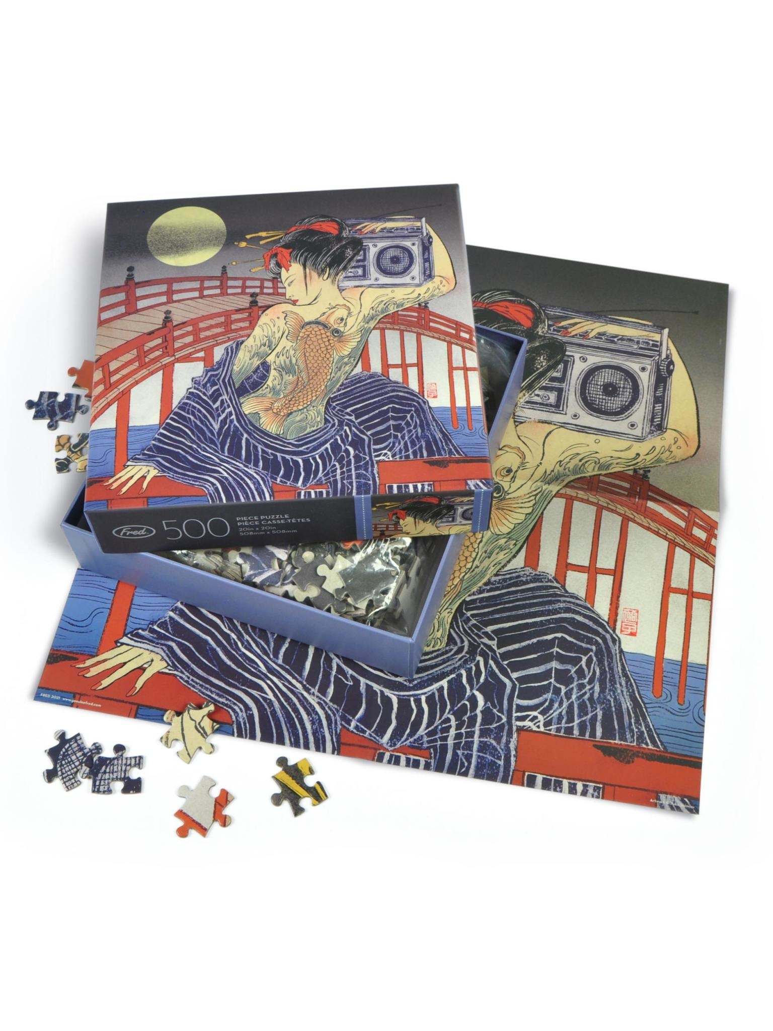 Fred Taiko-Bashi 500 Piece Puzzle