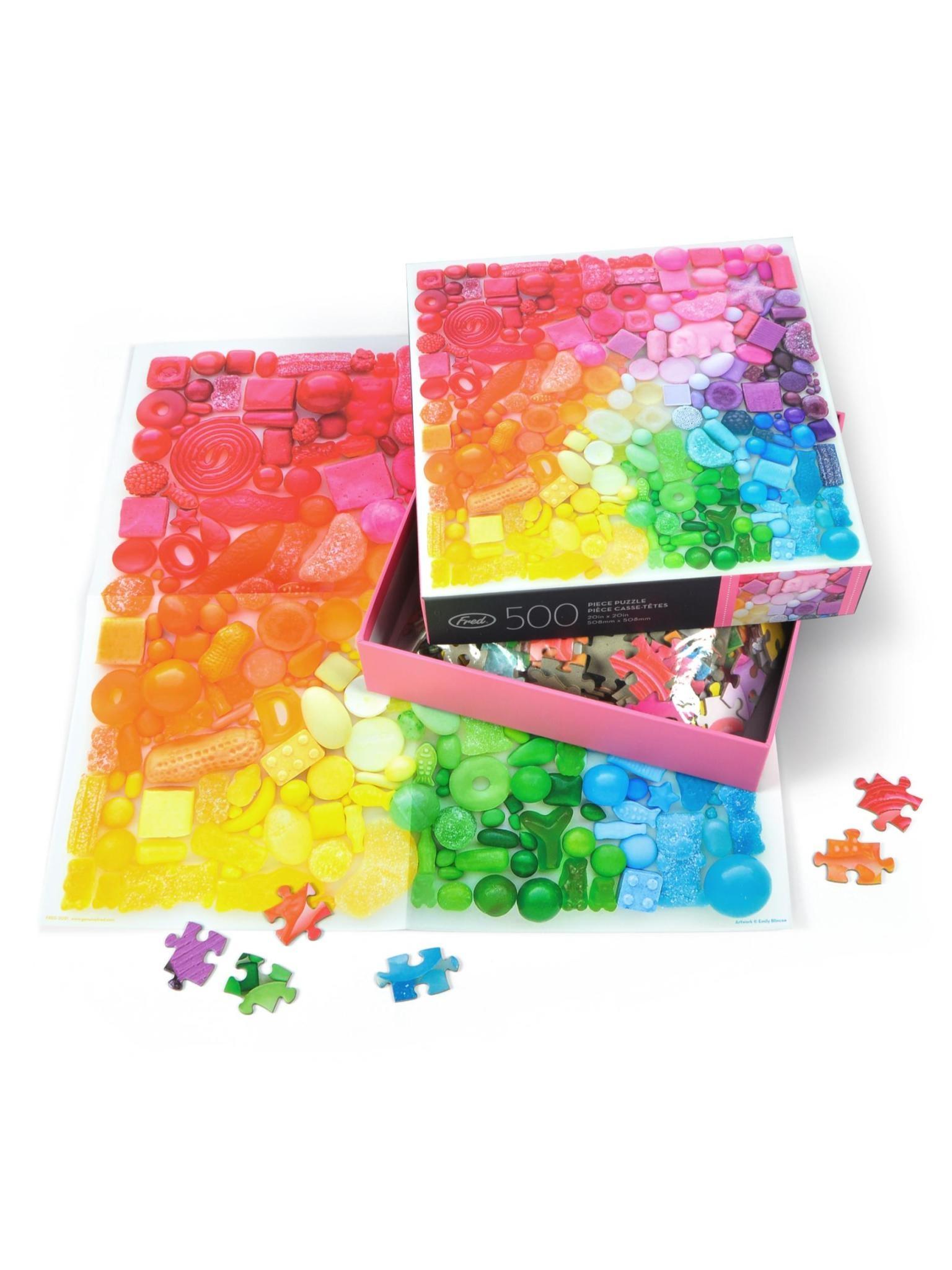 Fred Sugar Spectrum 500 Piece Puzzle