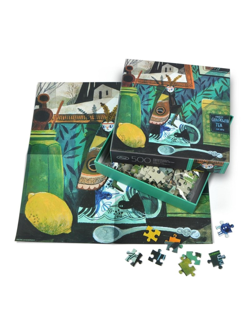 Fred Moth Girl 500 Piece Puzzle
