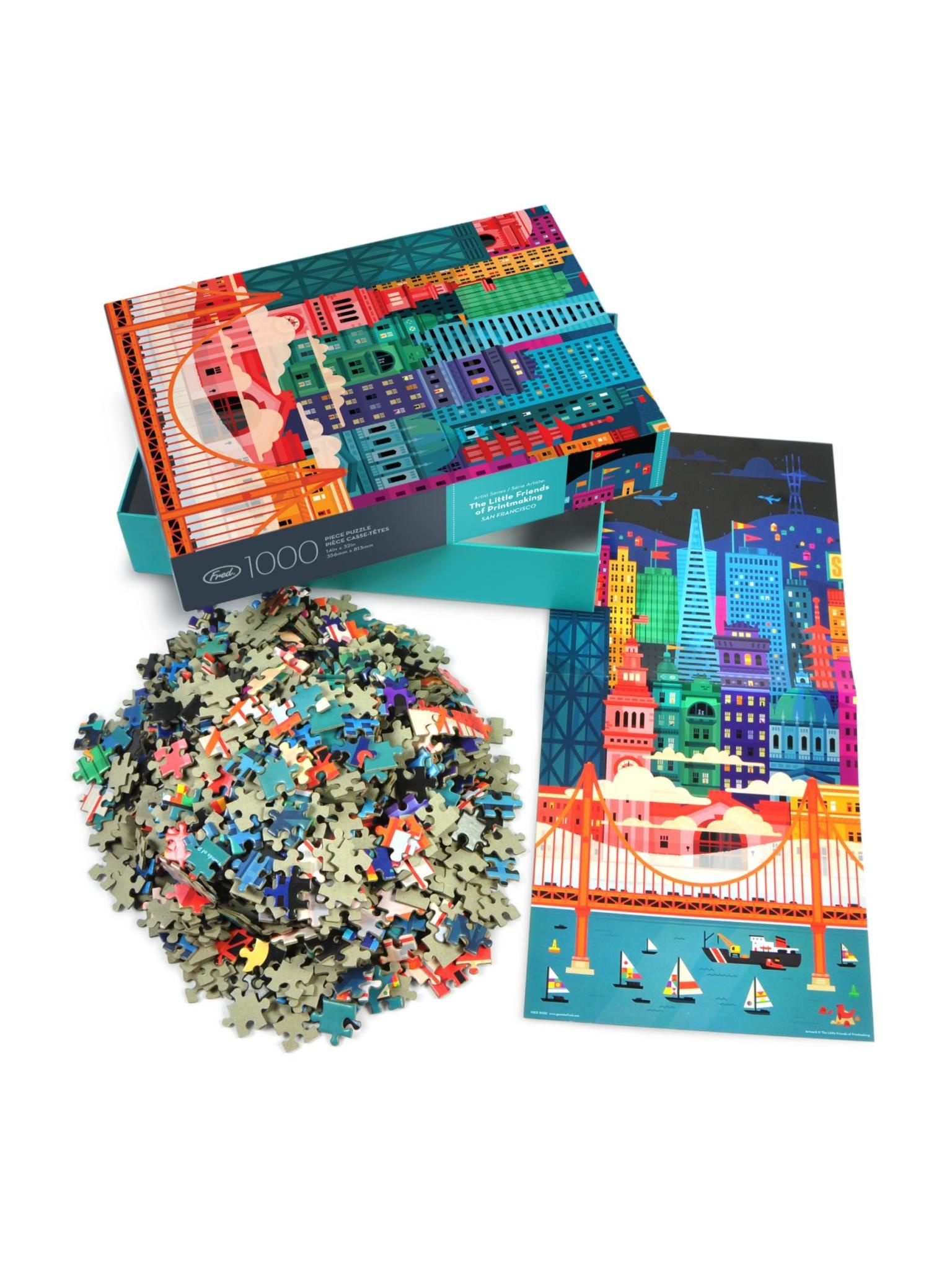 Fred San Fran 1000 Piece Puzzle