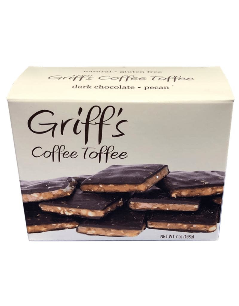 Chapel Hill Toffee Griff's Coffee Toffee 7 oz