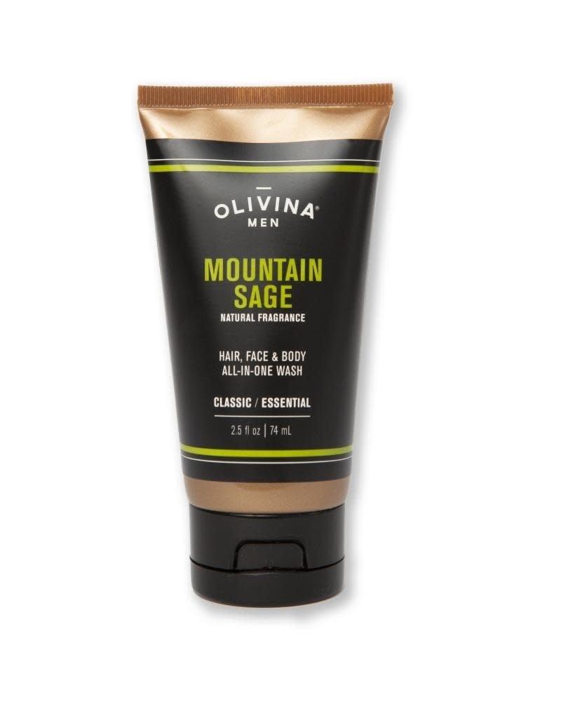 Olivina Men All-In-One Wash 2.5 oz