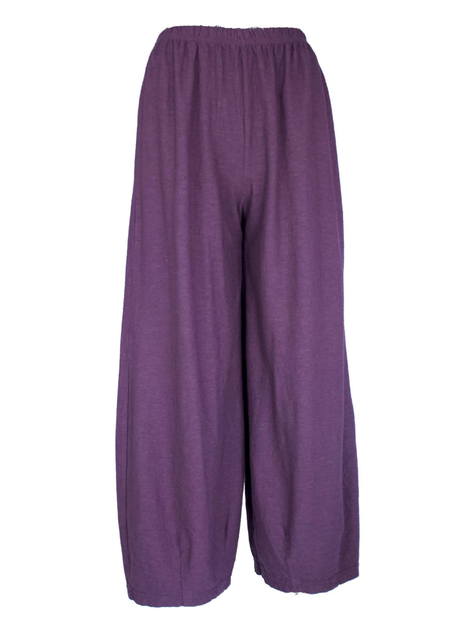 Cut Loose Cropped Pant with Darts