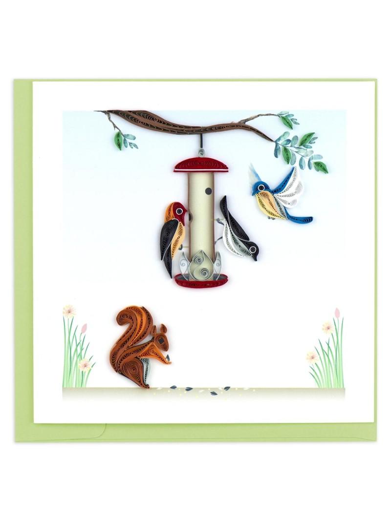 Quilling Card Bird Feeder