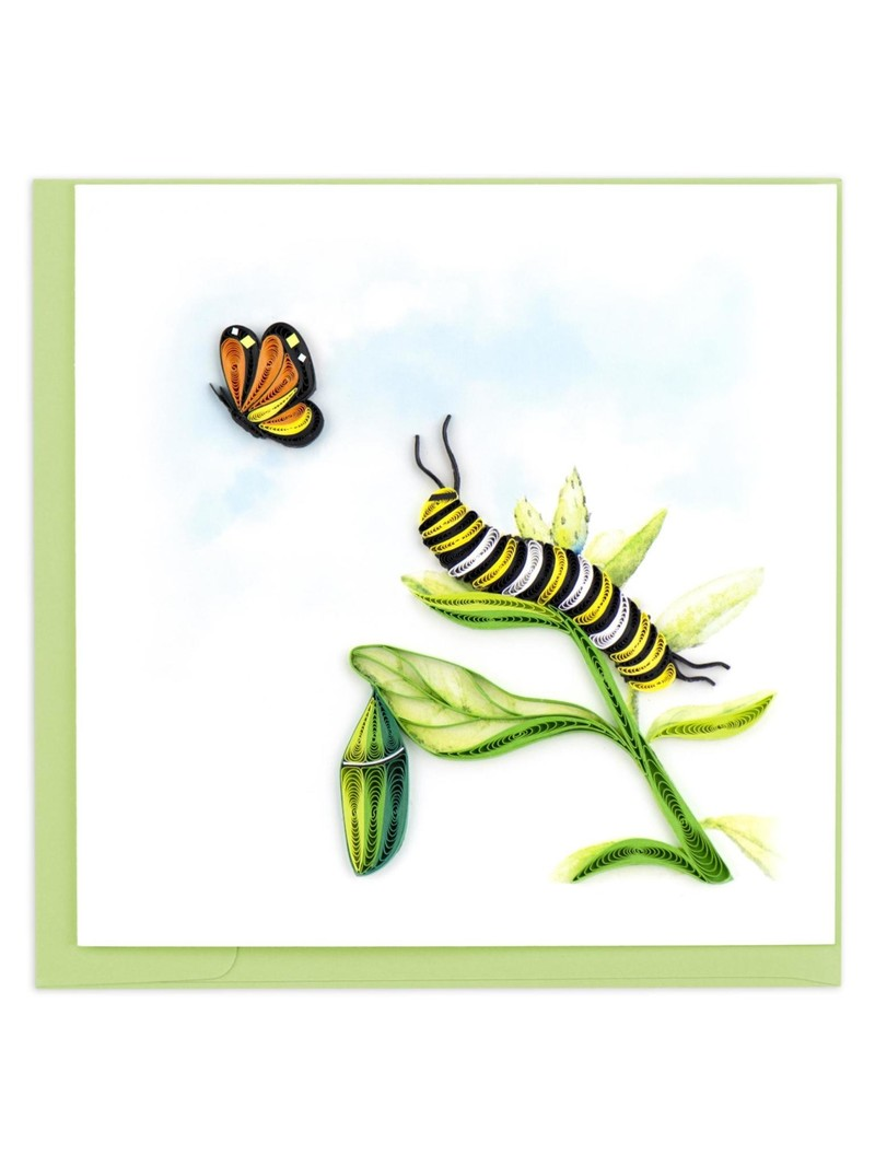 Quilling Card Caterpillar