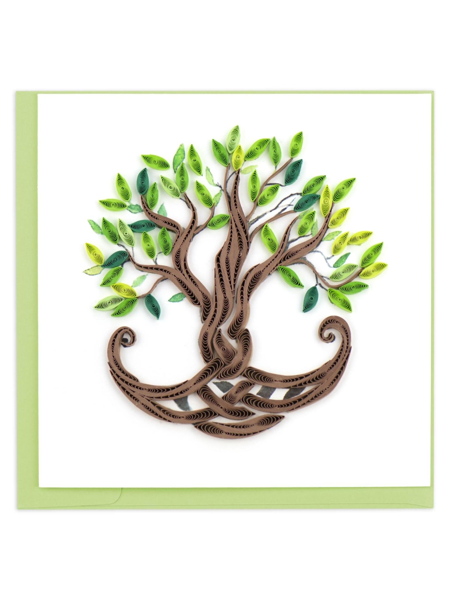 Quilling Card Tree of Life