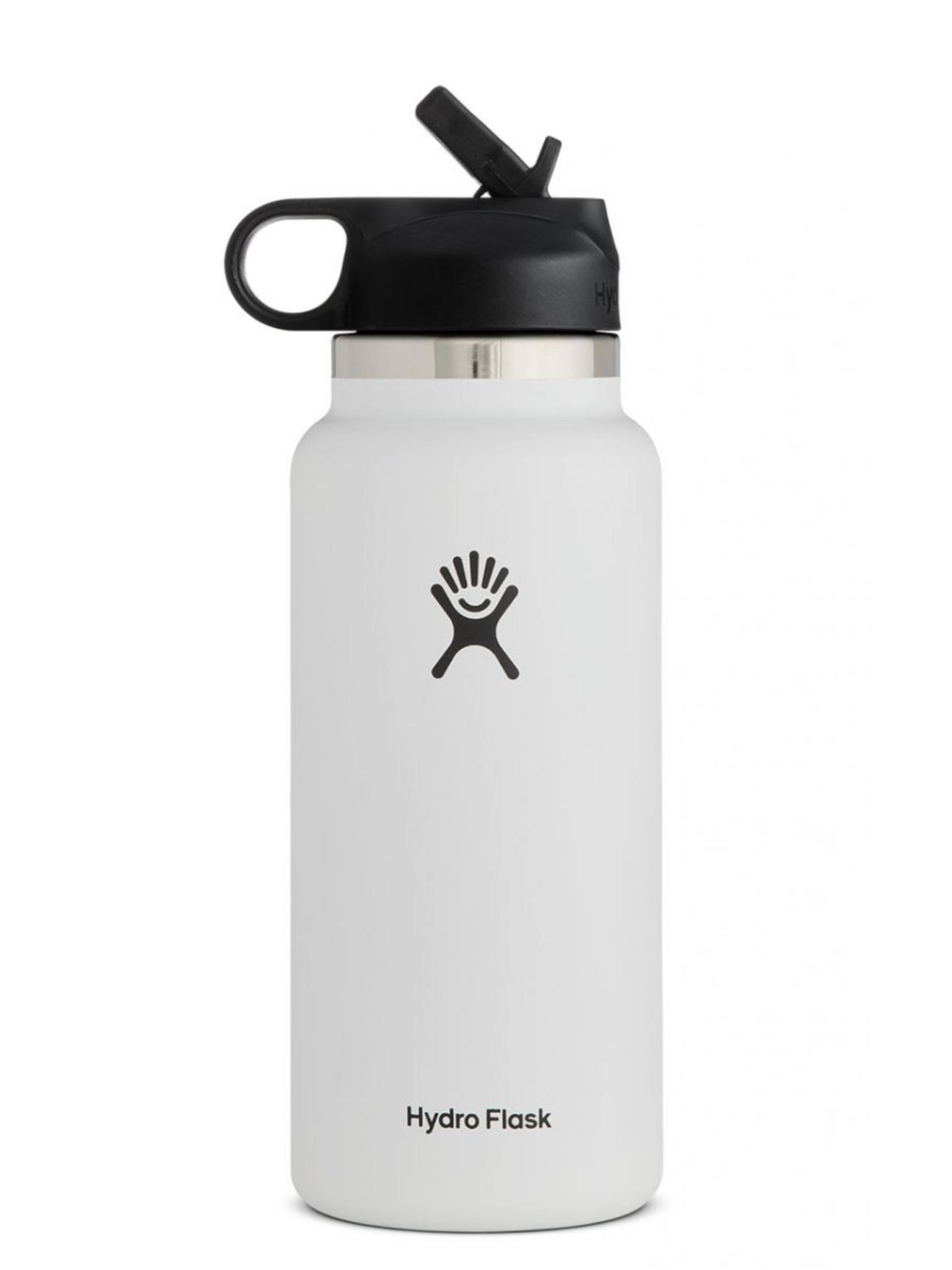 Hydro Flask 32 Oz Wide Mouth 2.0 Water Bottle with Straw Lid