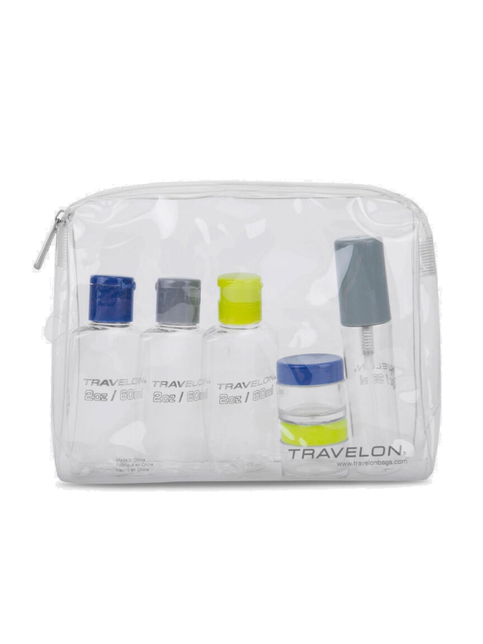 Travelon 1-Quart Zip-Top Bag with Bottles