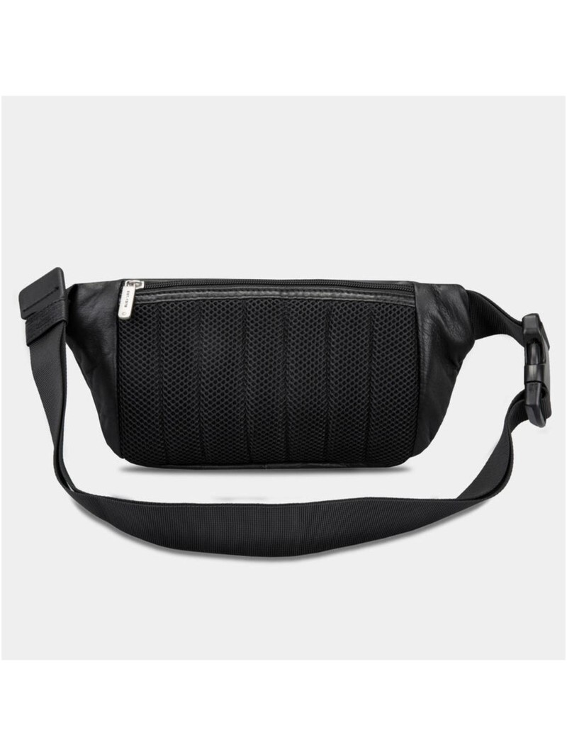 Travelon RFID Blocking Leather Waist Pack