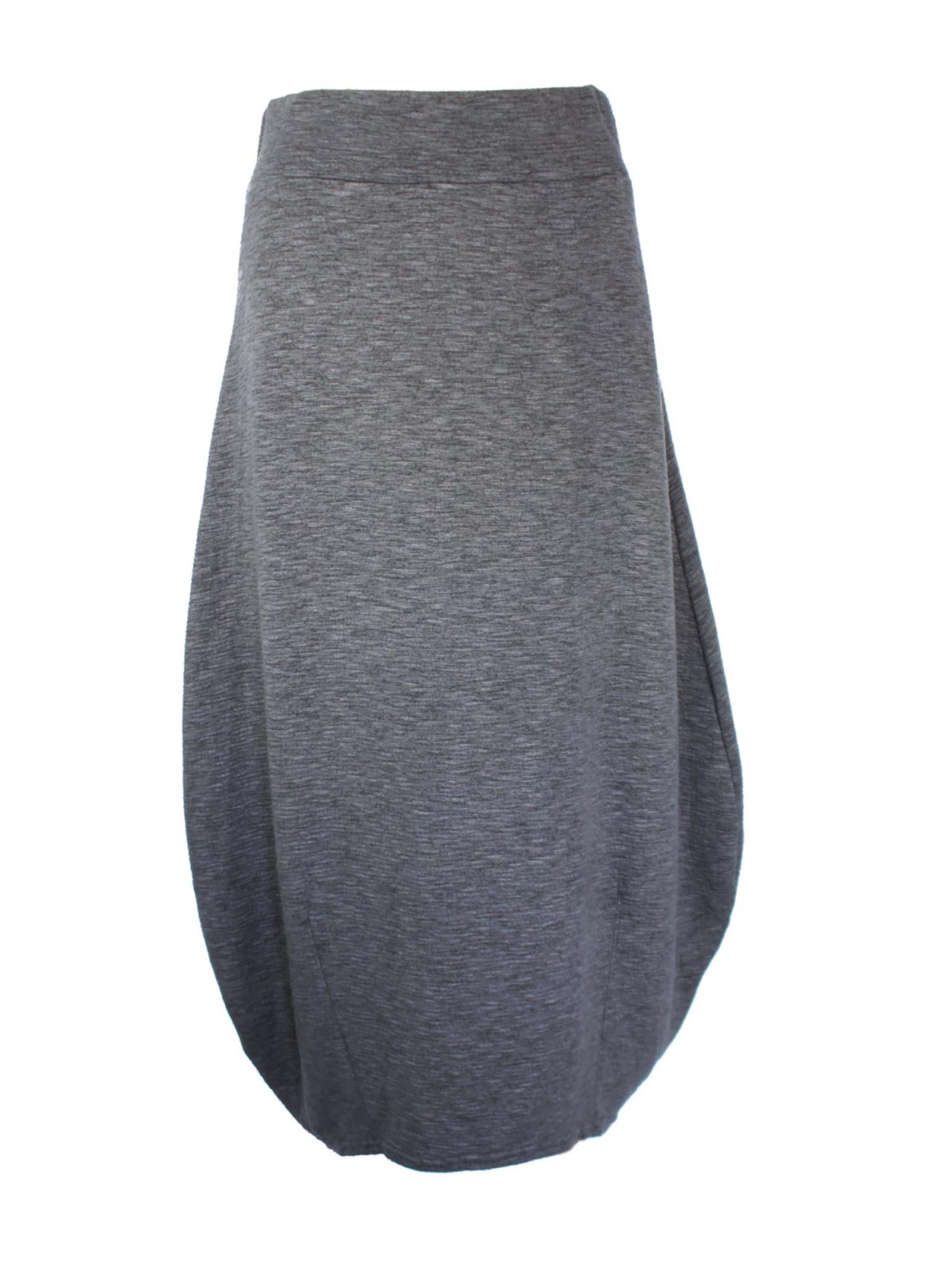 Cut Loose Crimped Fabric Lantern Skirt