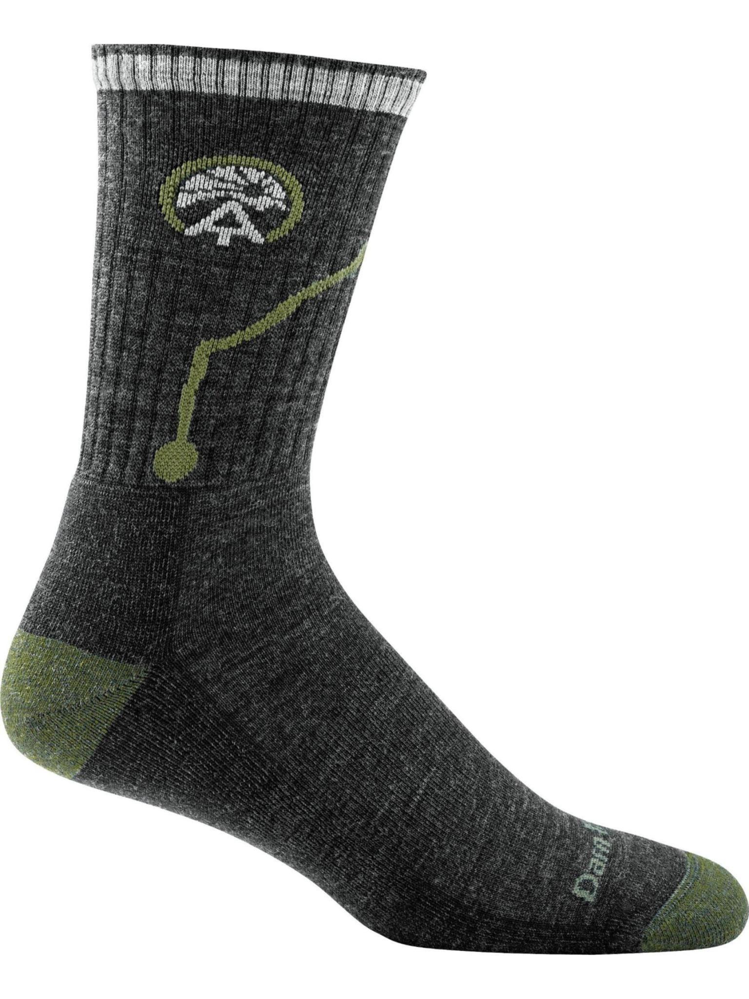 Darn Tough Men's ATC Midweight Cushion Micro Crew Hike Sock