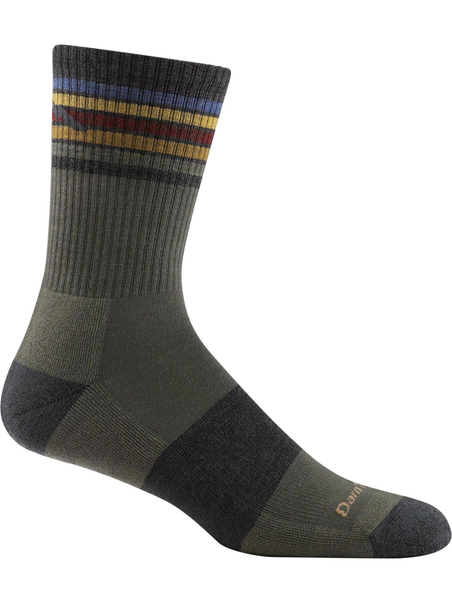 Darn Tough Men's Kelso Micro Crew Lightweight Hiking Sock