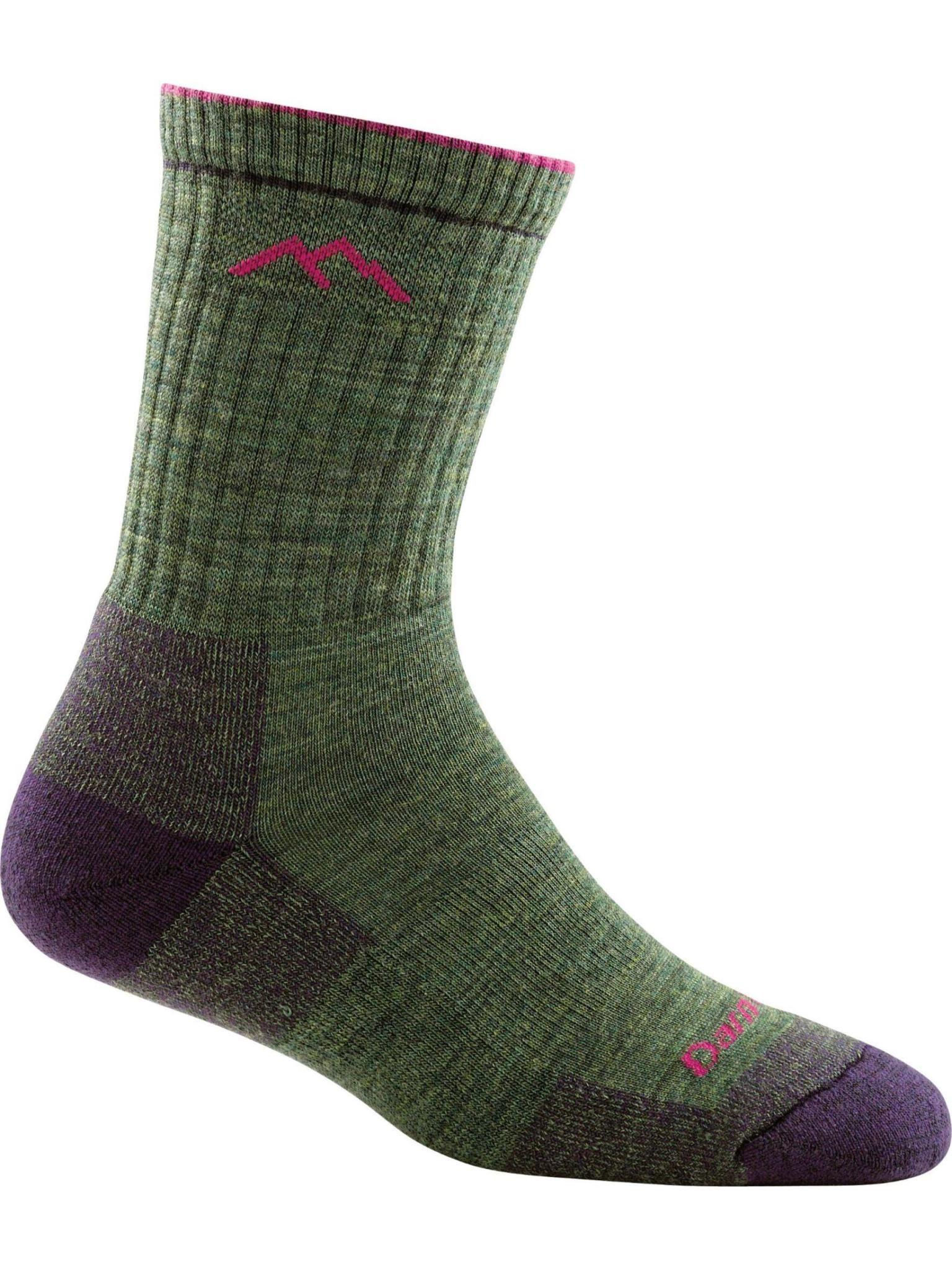 Darn Tough Women's Hiker Midweight Cushion Micro Crew Sock