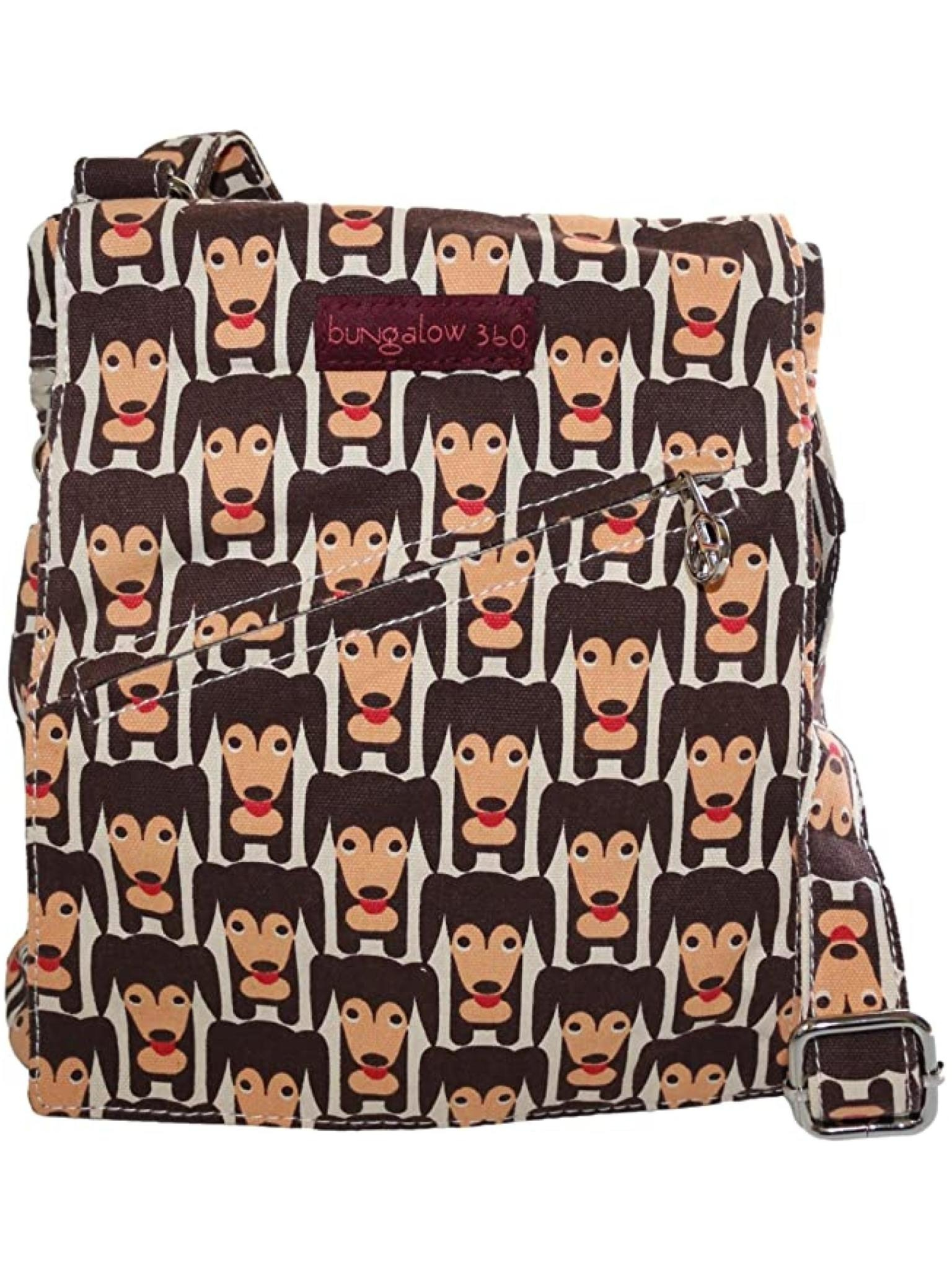 Bungalow 360 Small Messenger Happy Dog