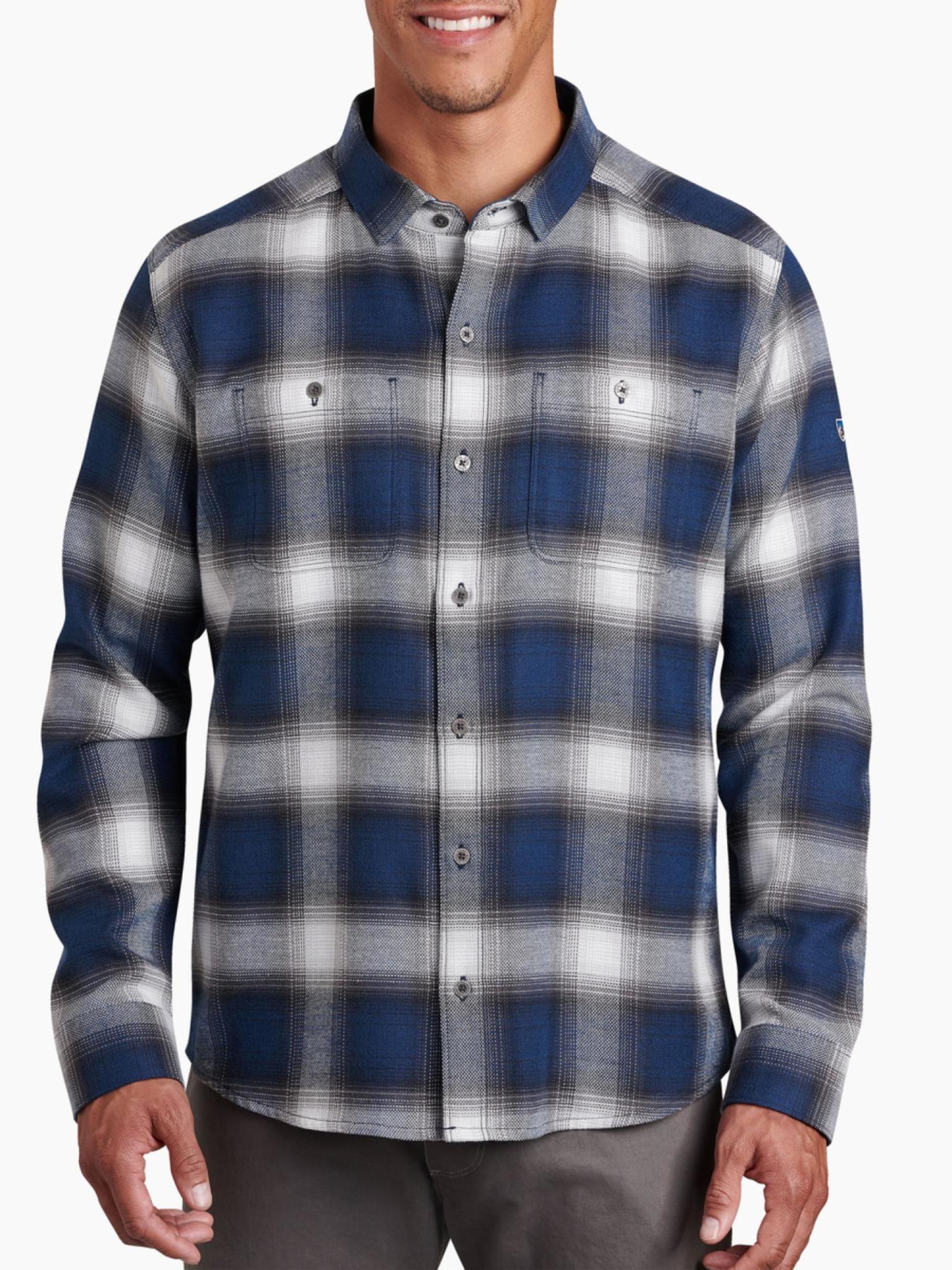 KUHL Men's Law Long Sleeve Flannel