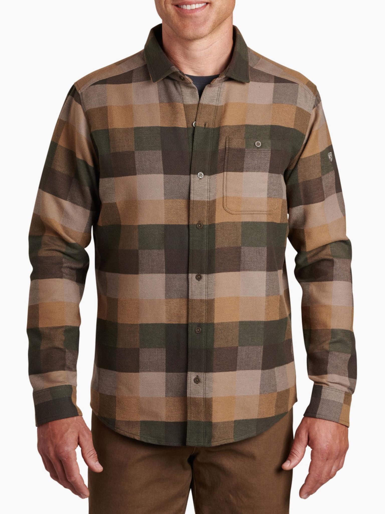 KUHL Men's Pixelatr Flannel LS