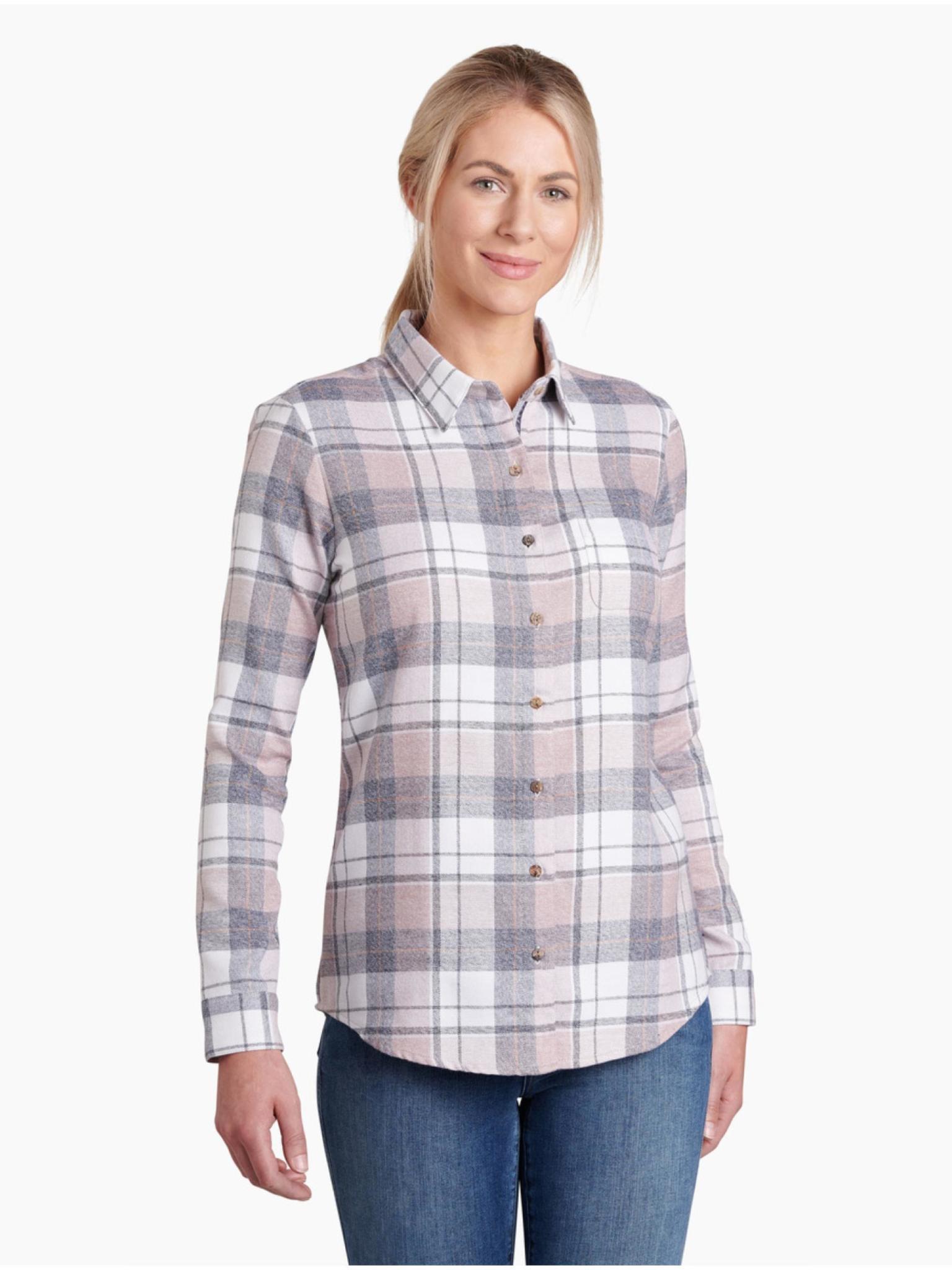 KUHL Women's Kamila Flannel Shirt