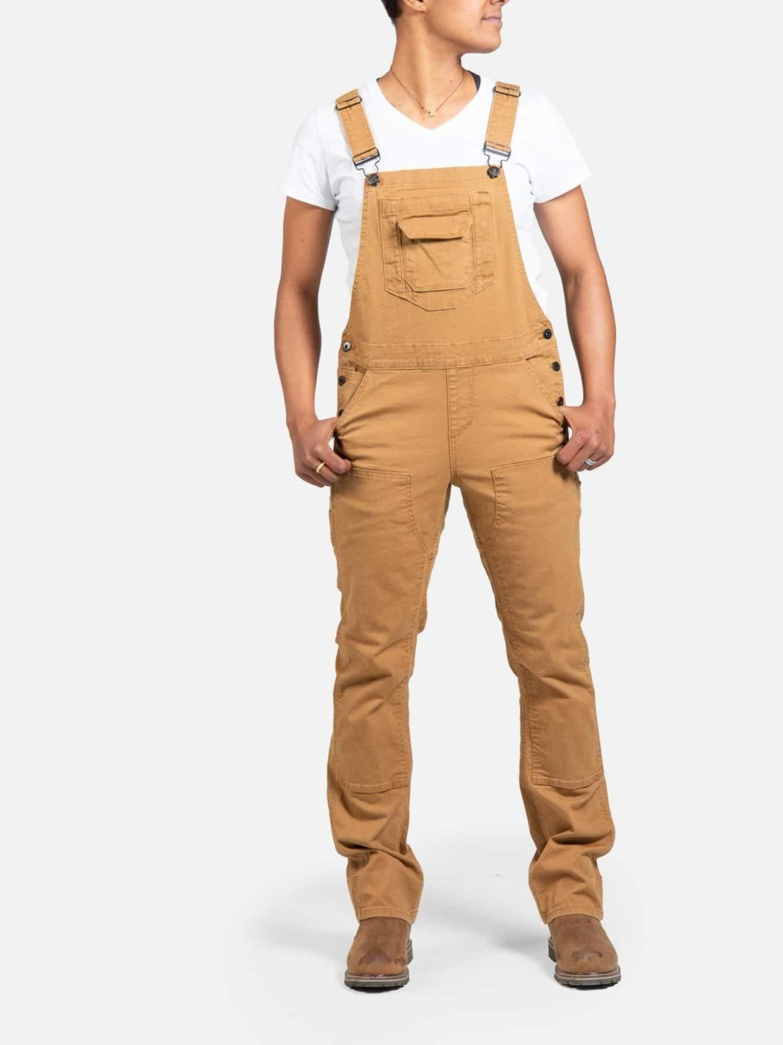 Dovetail Women's Freshley Canvas Overall