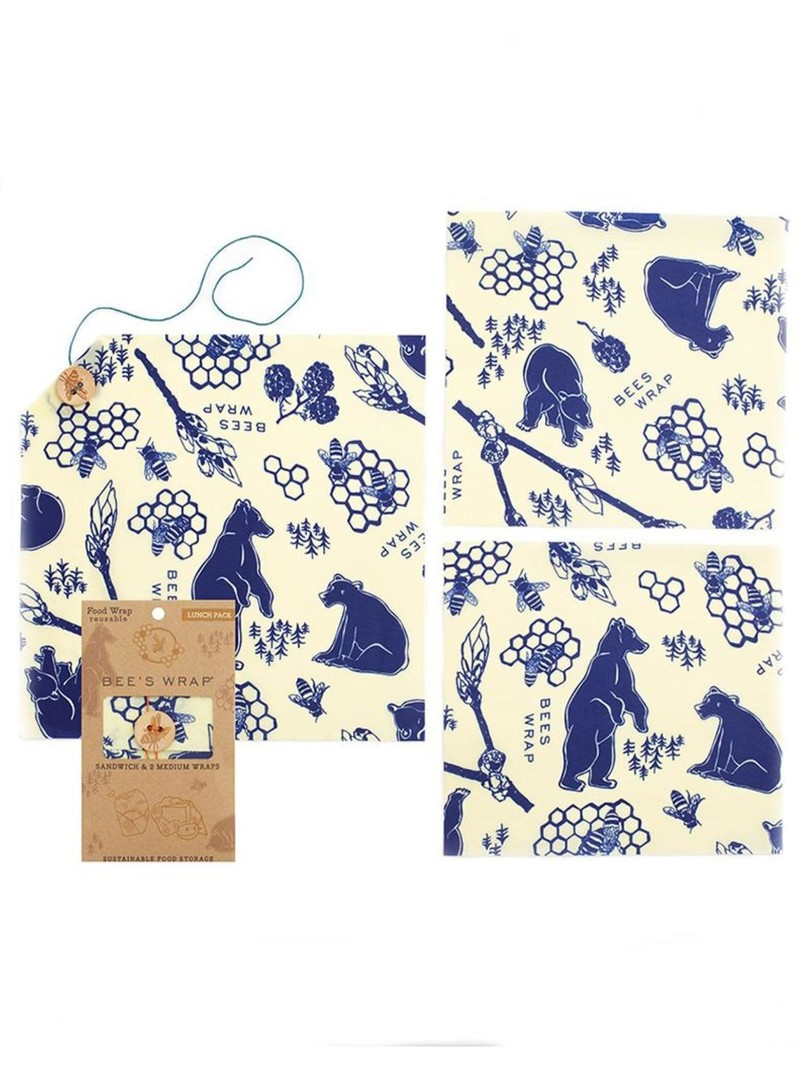 Bee's Wrap Lunch Pack Bees & Bears