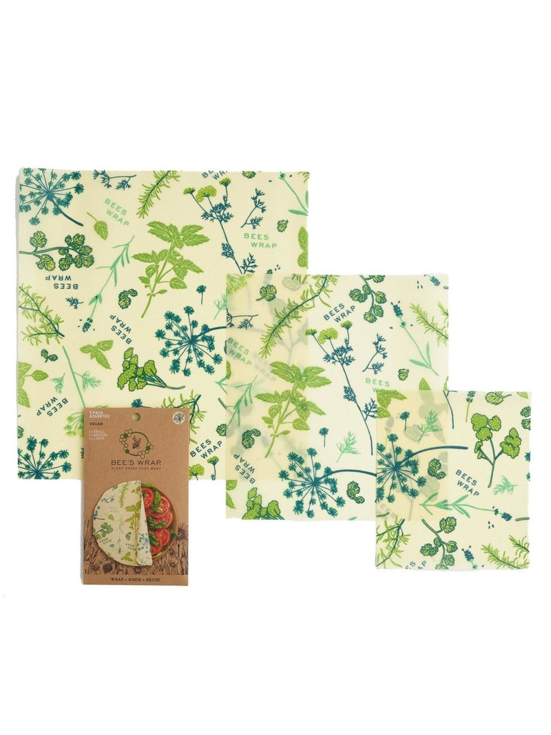 Bee's Wrap 3-Pack Wraps Assorted Sizes
