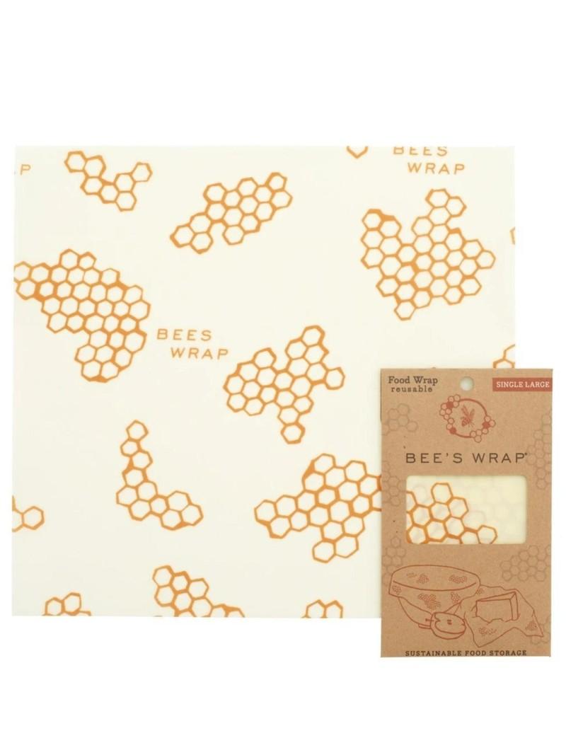 Bee's Wrap Single Wrap Honeycomb Large