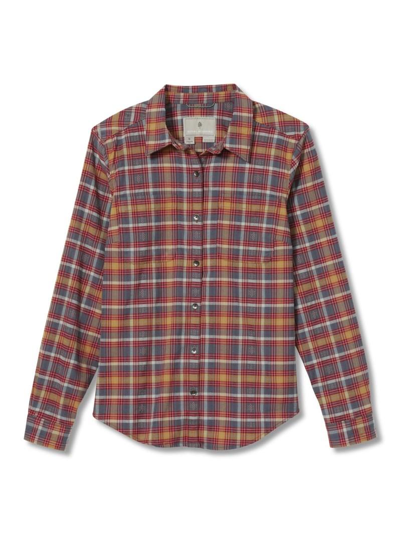 Royal Robbins Women's Thermo Tech  Flannel Shirt