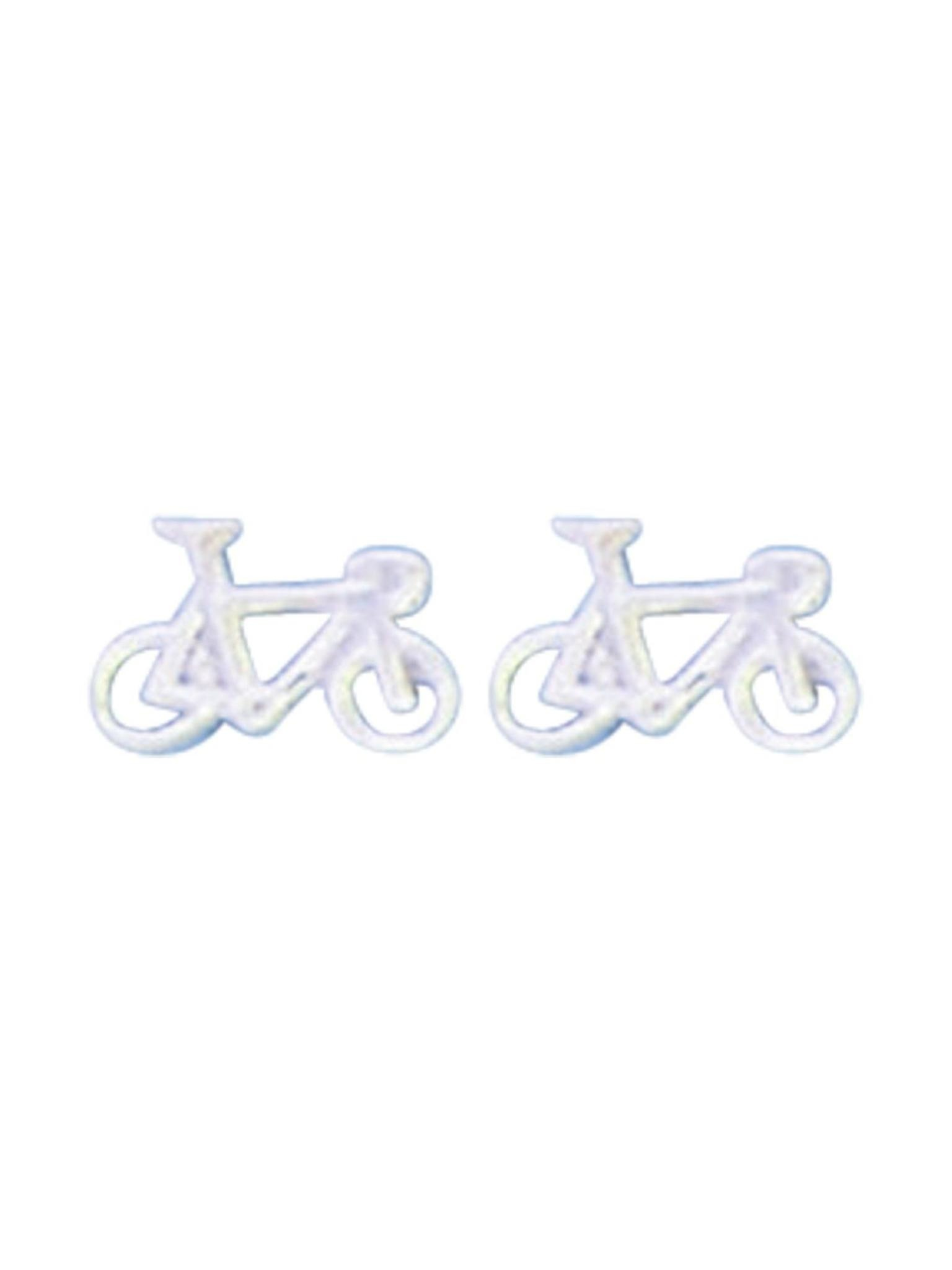 Acomo Jewelry Mini Bicycle Stud Earring