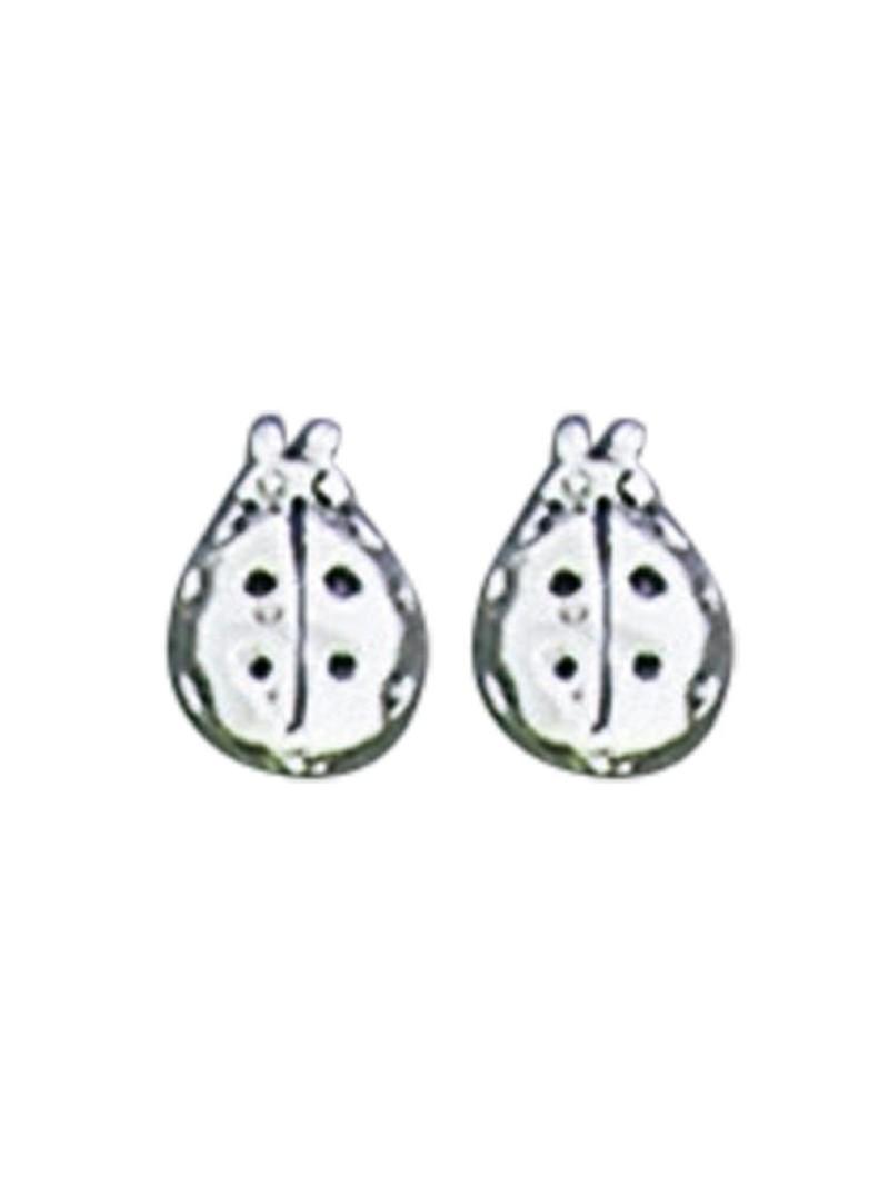 Acomo Jewelry Mini Ladybug Stud Earring