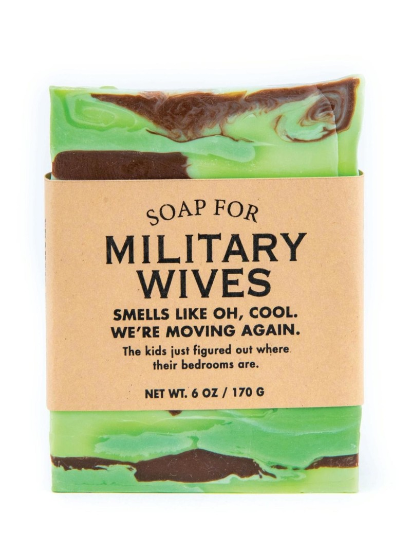 Whiskey River Soap Co. Military Wives Soap 6 oz