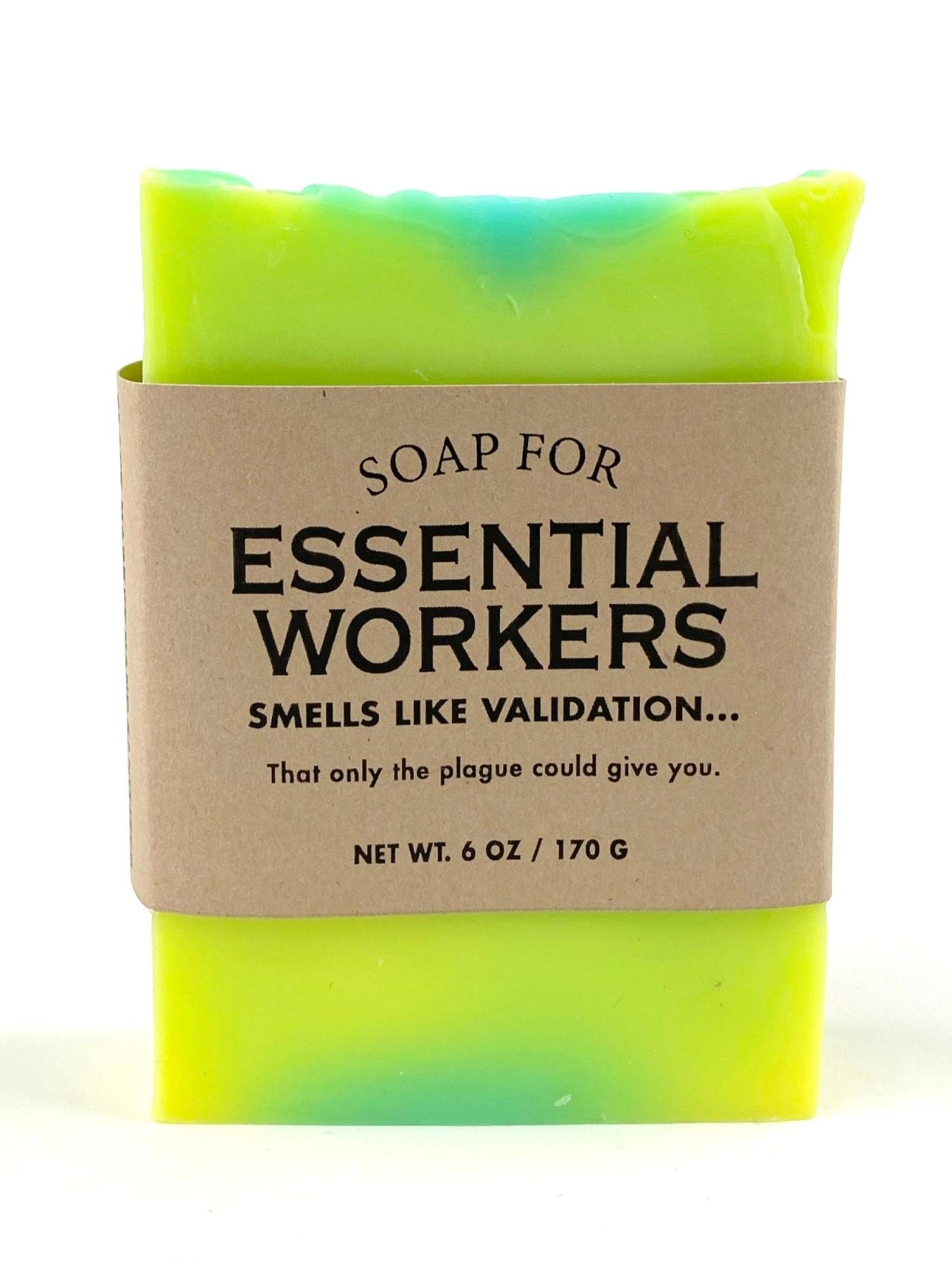 Whiskey River Soap Co. Essential Worker Soap 6 oz