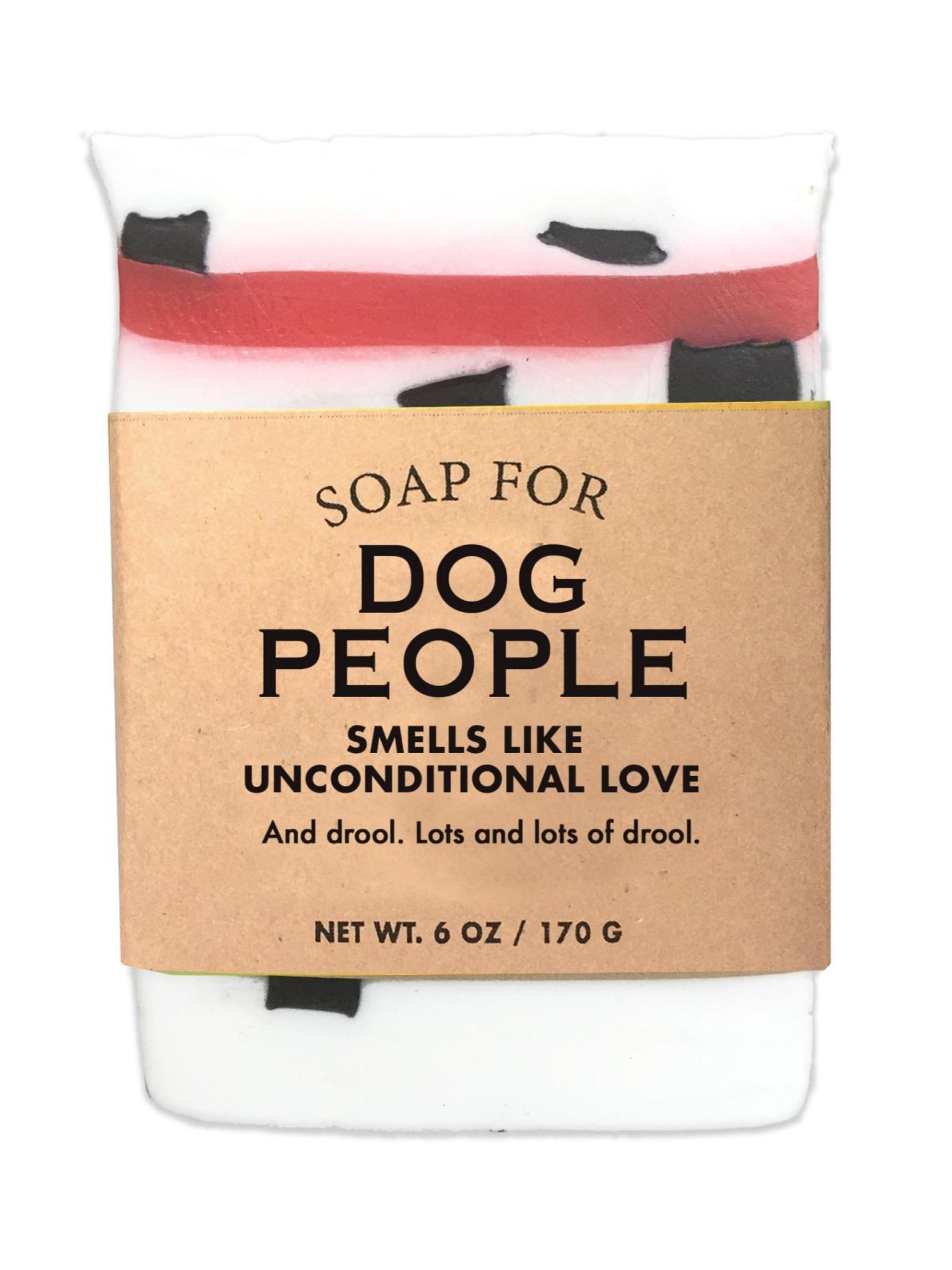 Whiskey River Soap Co. Dog People Soap 6 oz