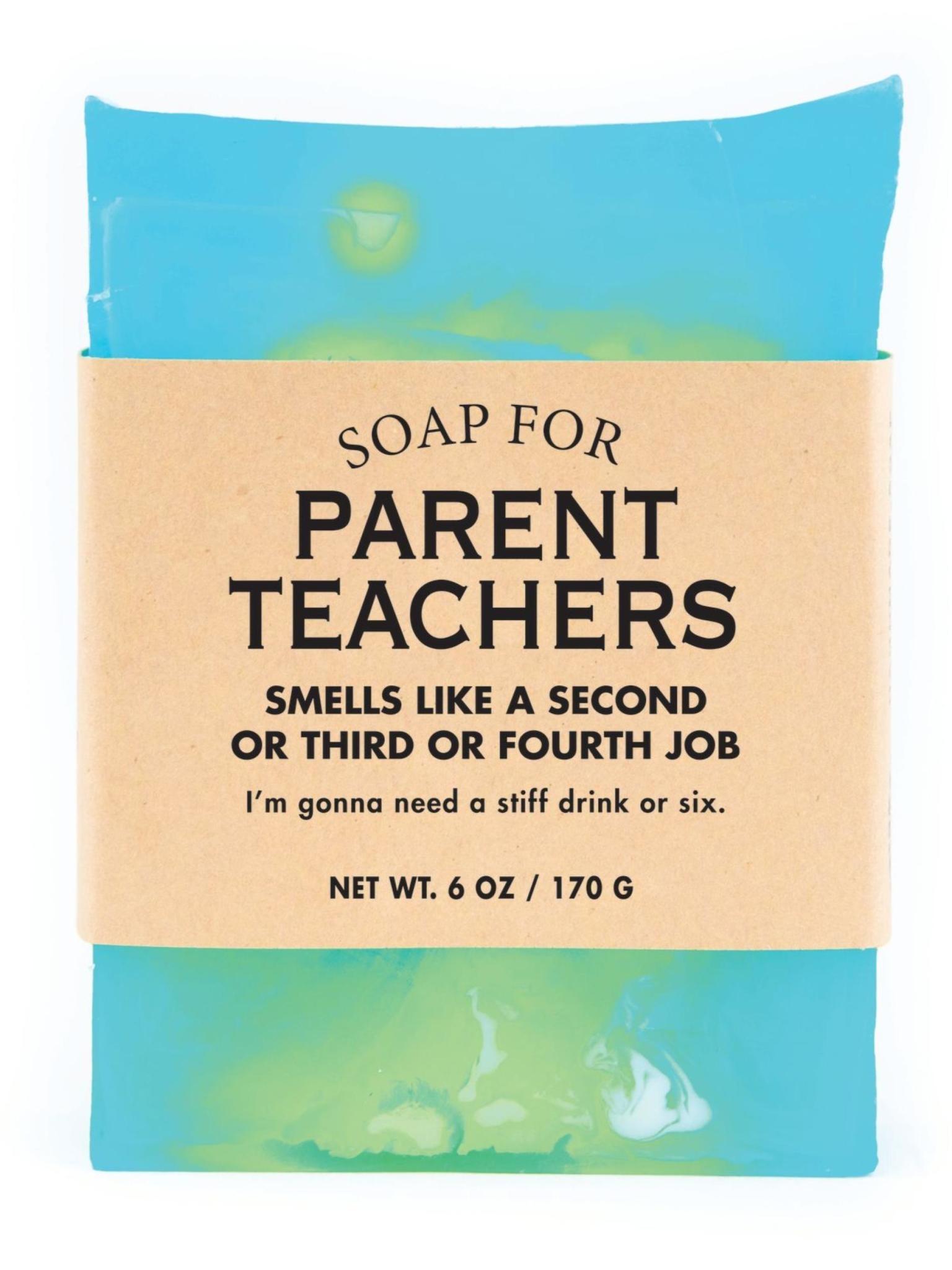 Whiskey River Soap Co. Parent Teachers Soap 6 oz