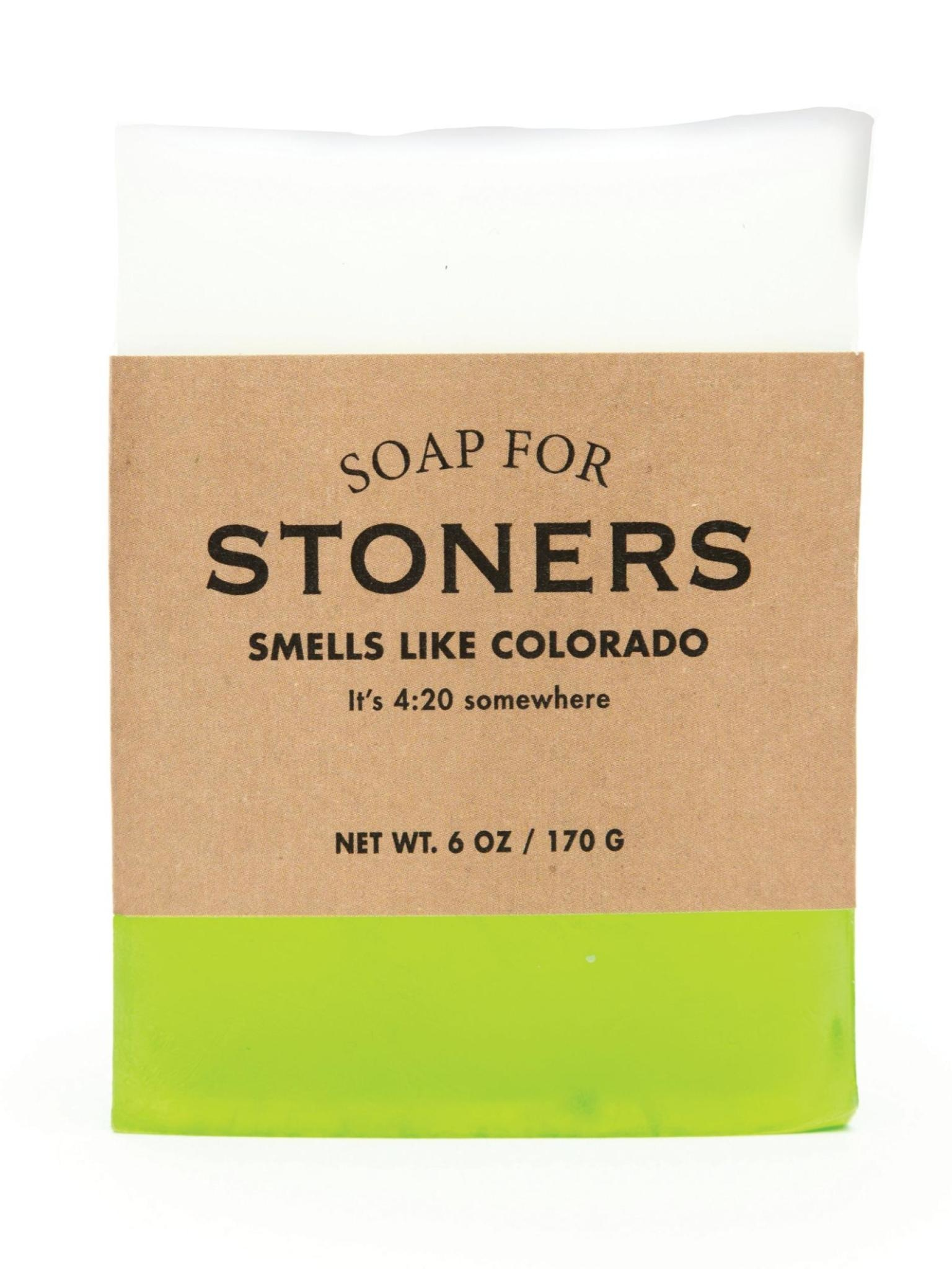 Whiskey River Soap Co. Stoner Colorado Soap 6 oz