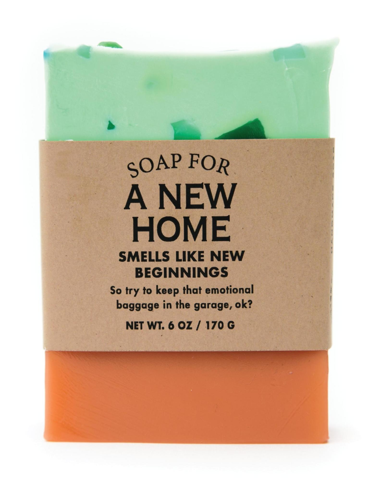 Whiskey River Soap Co. A New Home Soap 6 oz