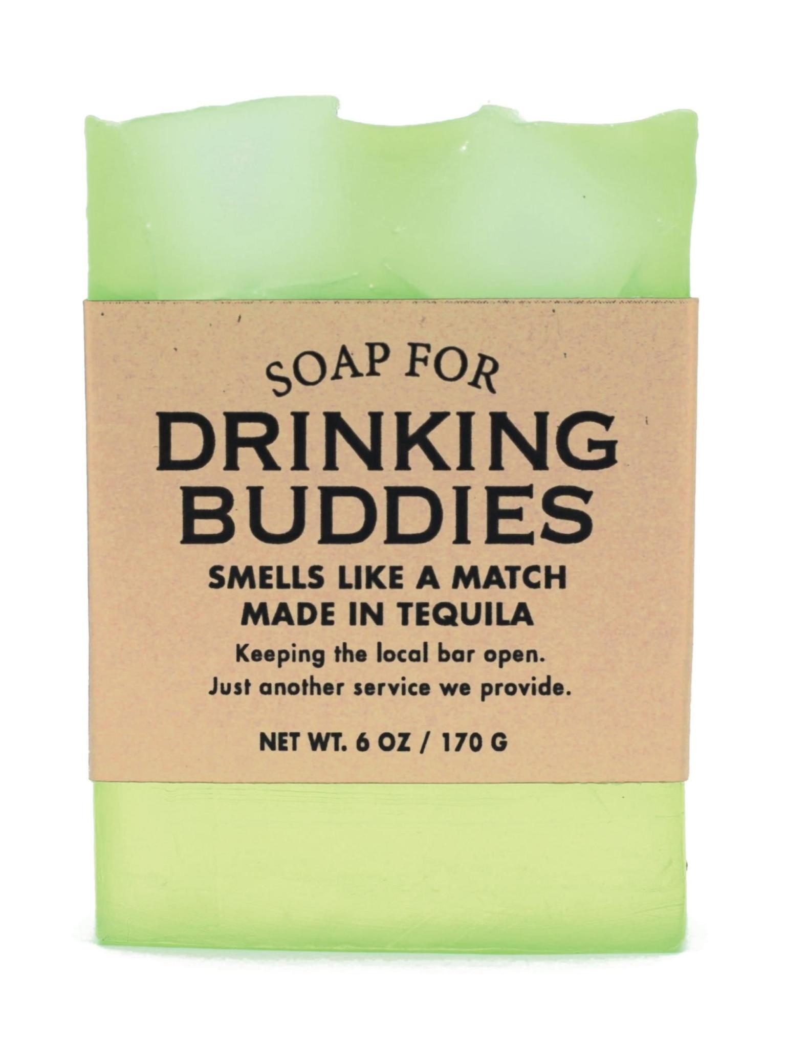 Whiskey River Soap Co. Drinking Buddies Soap 6 oz