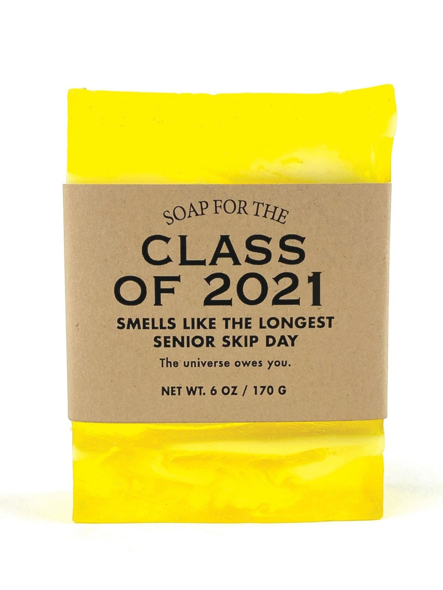 Whiskey River Soap Co. Class of 2021 Soap 6 oz