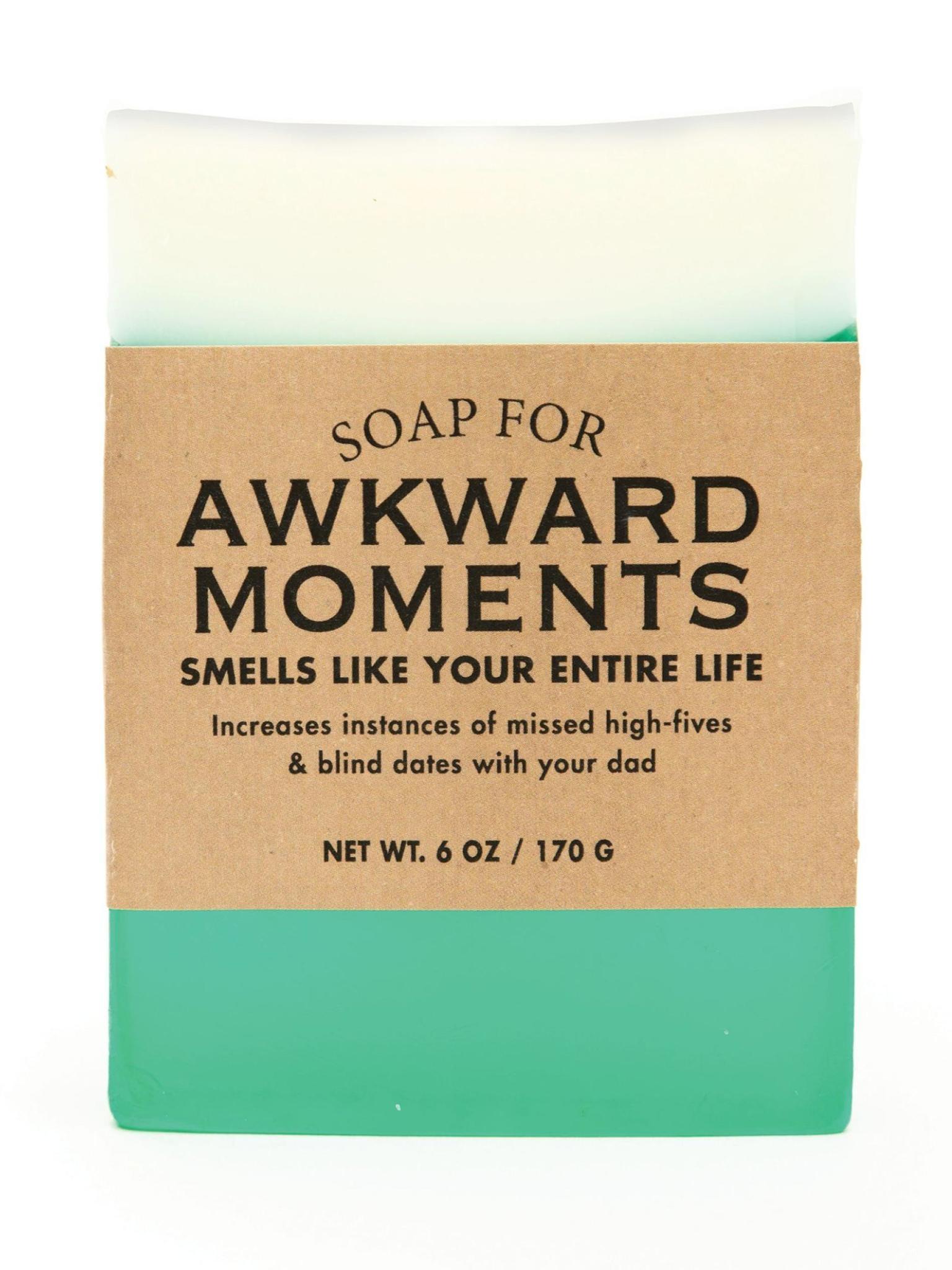Whiskey River Soap Co. Awkward Moments Soap 6 oz