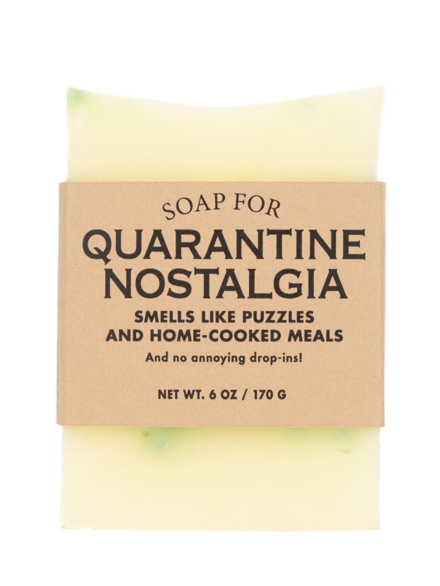 Whiskey River Soap Co. Quarantine Nostalgia Soap 6 oz