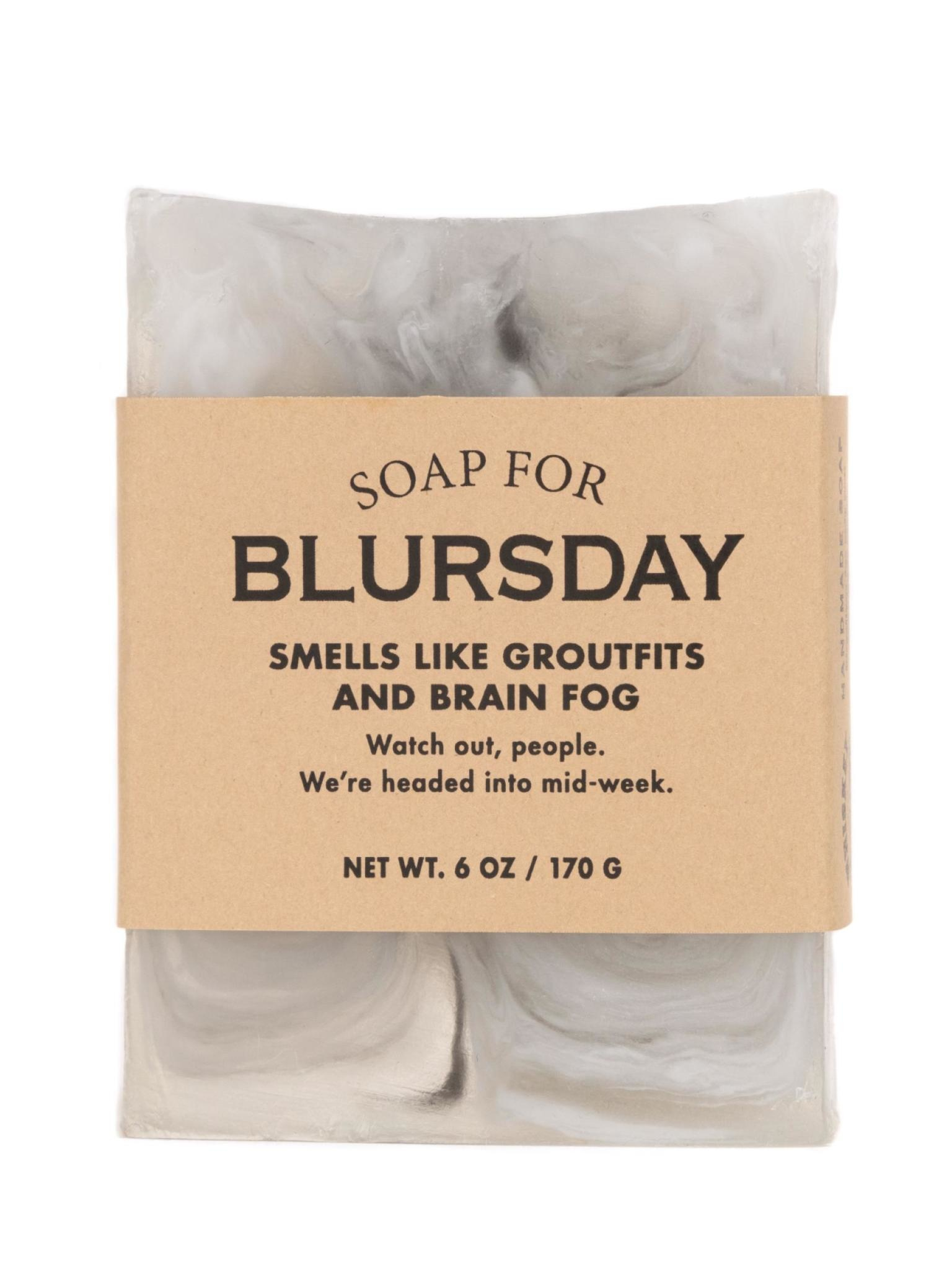 Whiskey River Soap Co. Blursday Soap 6 oz