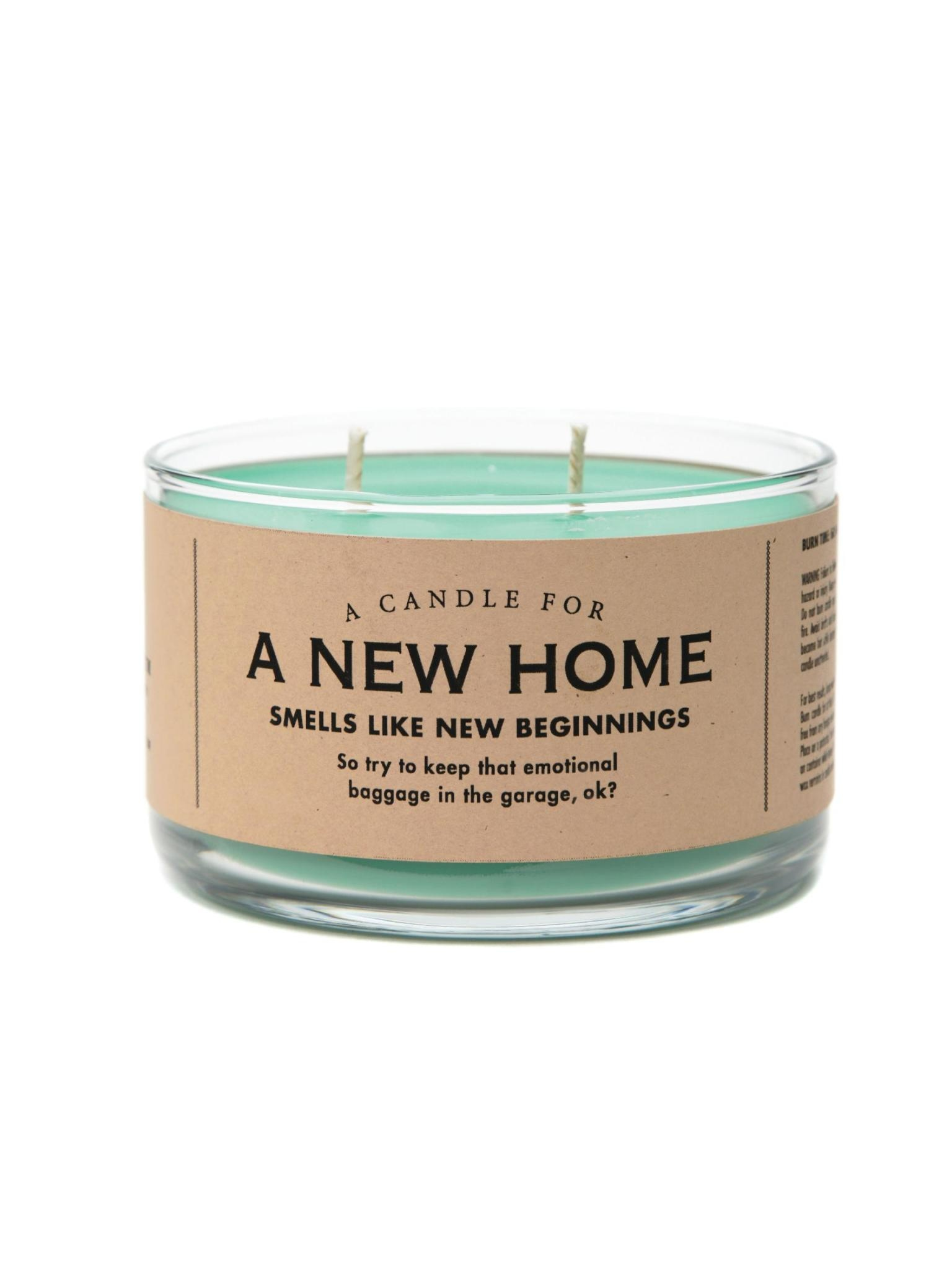 Whiskey River Soap Co. A New Home Candle 17 oz