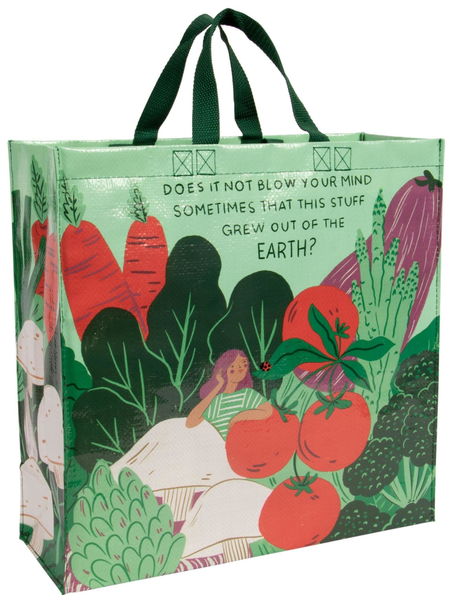 Blue Q Out of Earth Shopper